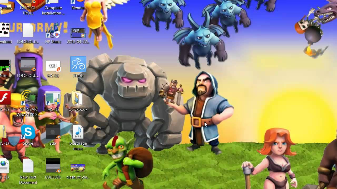 Clash Of Clans Hd 35689 Hd Wallpaper Backgrounds Download