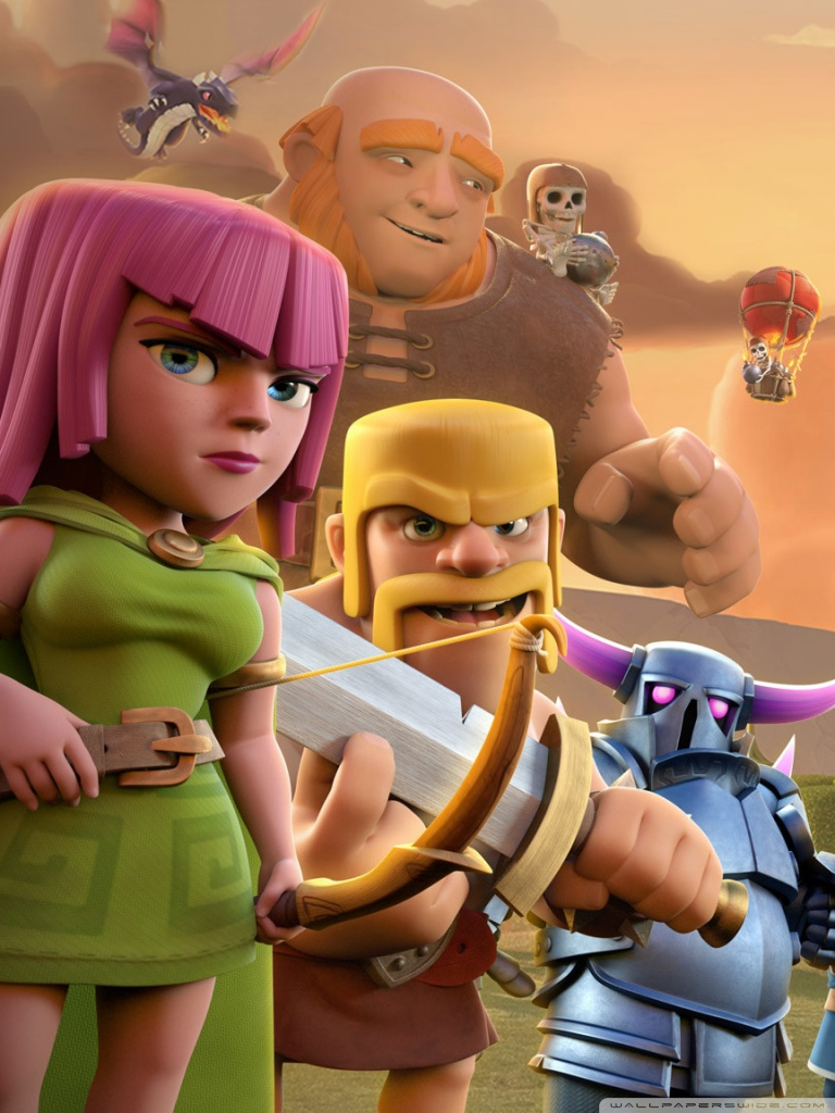 Wallpapers Clash Of Clans Clash Of Clan Wallpaper For Android Hd