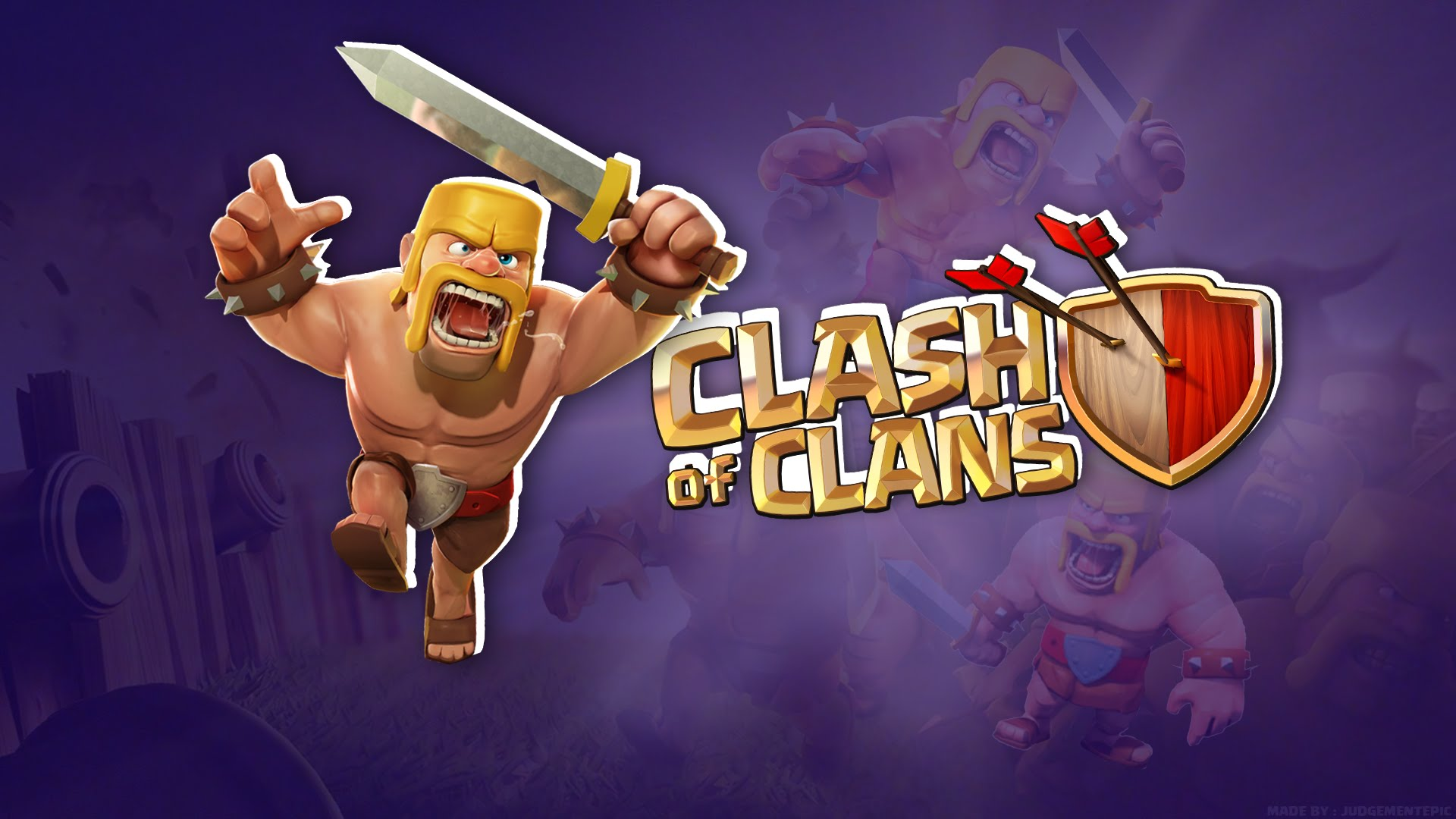 Clash Of Clans Hd Wallpapers - Clash Of Clans , HD Wallpaper & Backgrounds