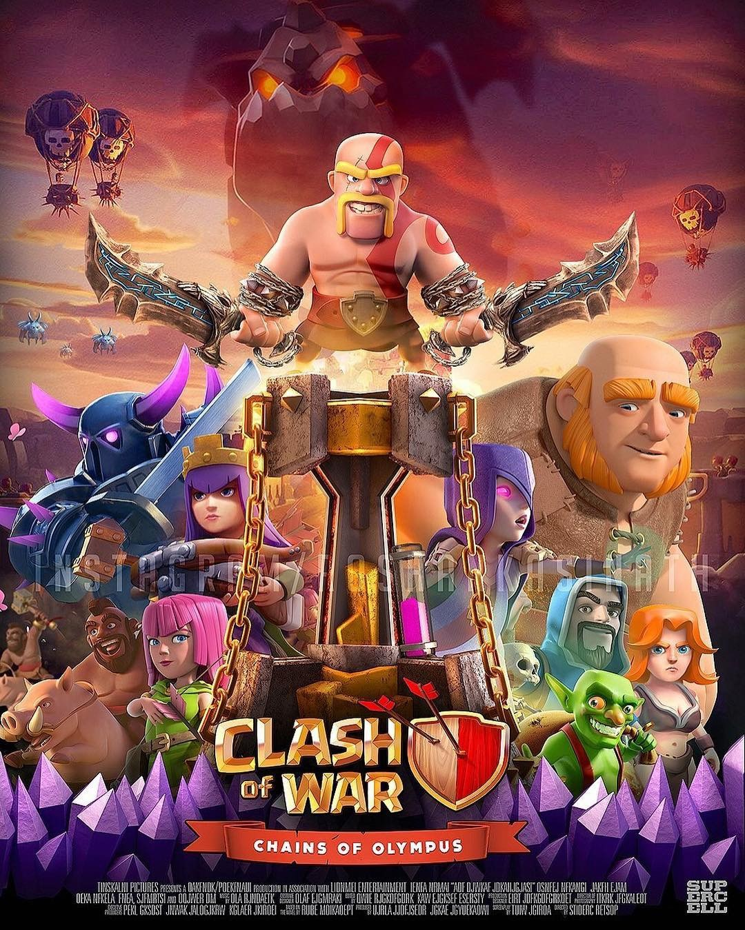 Clash Of Clans Hack Gems For Free No Survey Coc All Troops