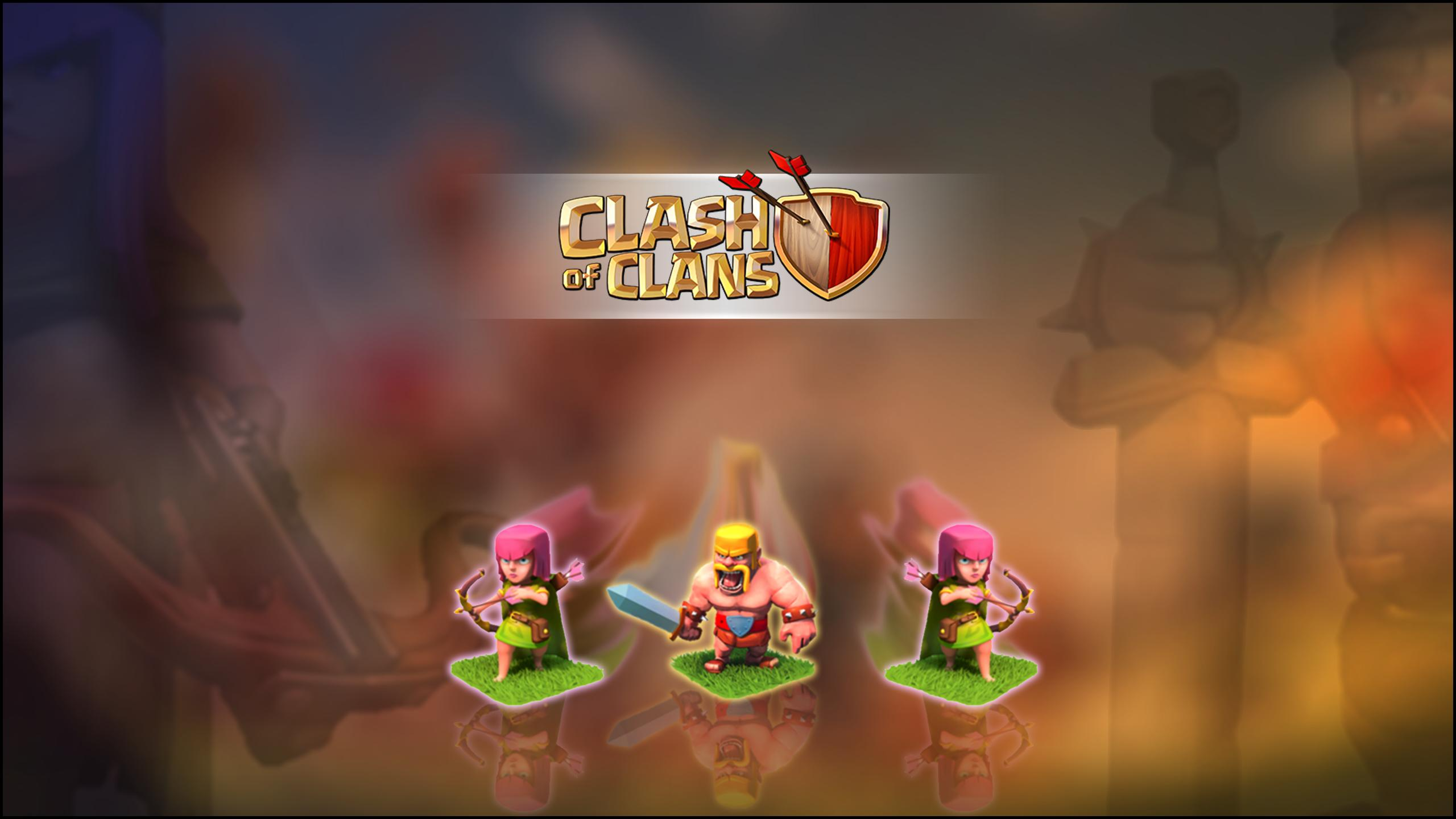 Clash Of Clans Hd Wallpaper Clash Of Clans Background