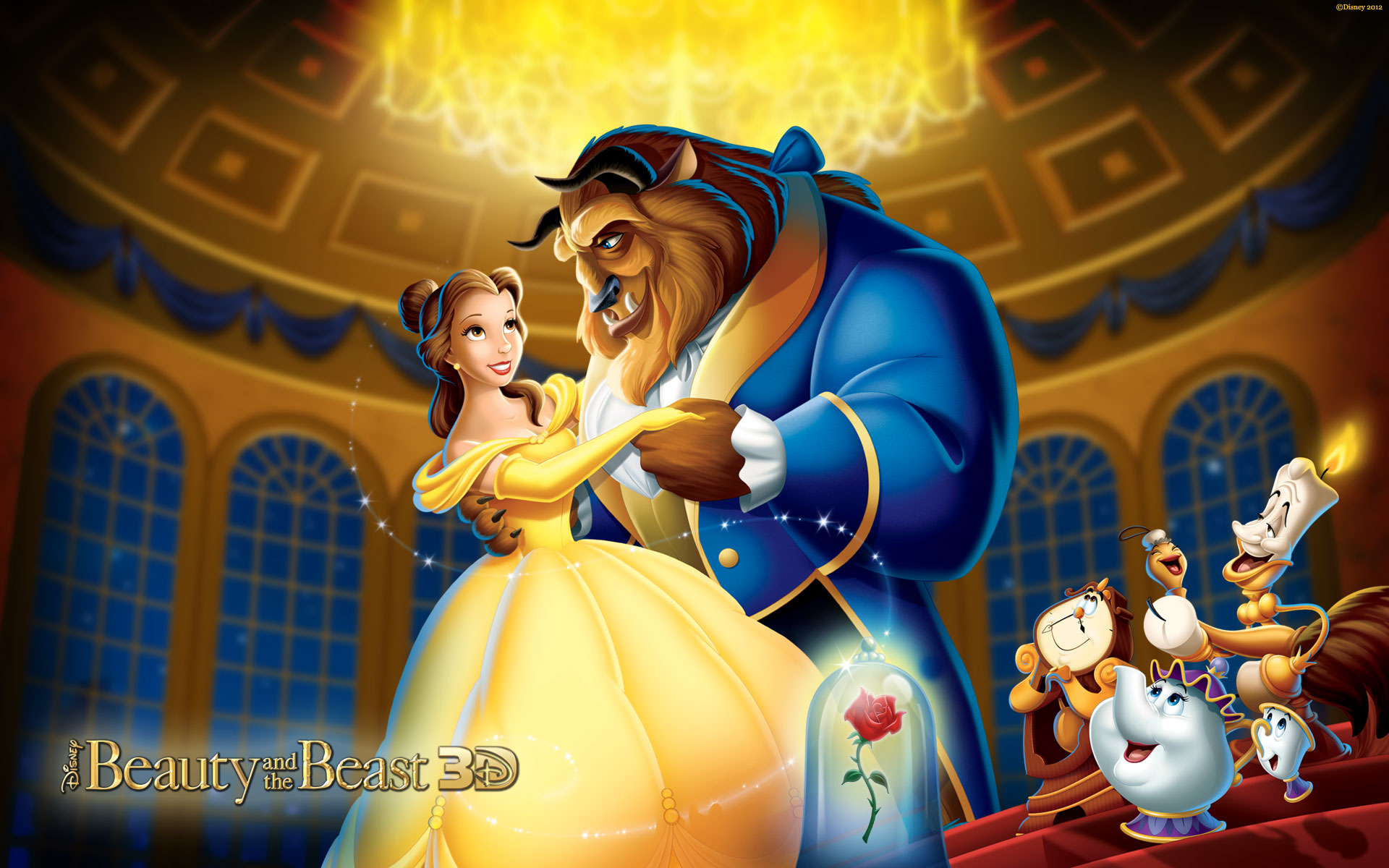 Beauty And The Beast Wallpaper Beauty The Beast