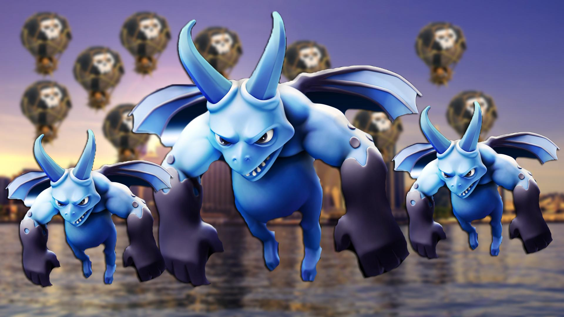 Hd Coc Wallpaper - Clash Of Clans Troops Hd , HD Wallpaper & Backgrounds