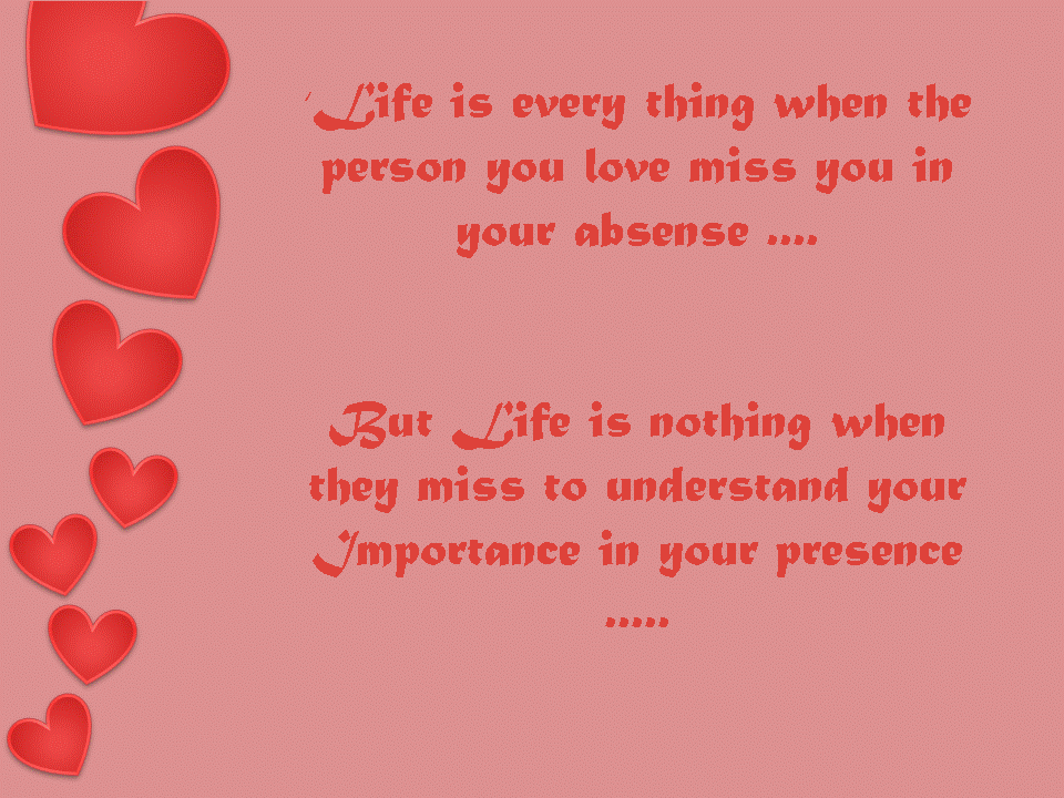 Love Quotation Wallpaper - Quotes On Importance Of A Person , HD Wallpaper & Backgrounds