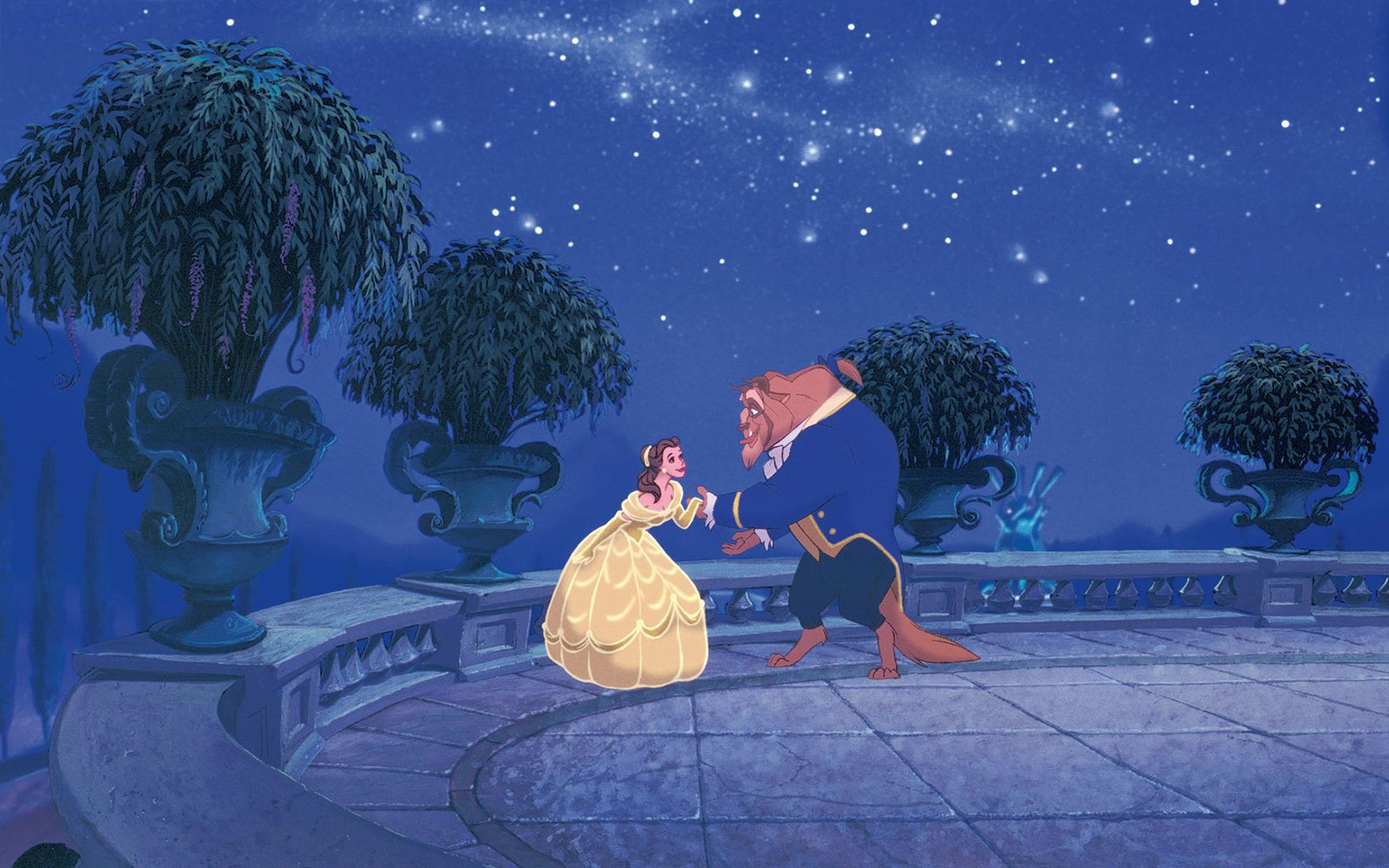 Beauty And The Beast Wallpaper Disney Beauty And The Beast