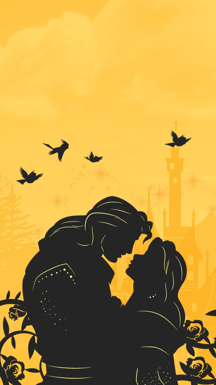 Beauty And The Beast Disney Background Disney Wallpaper