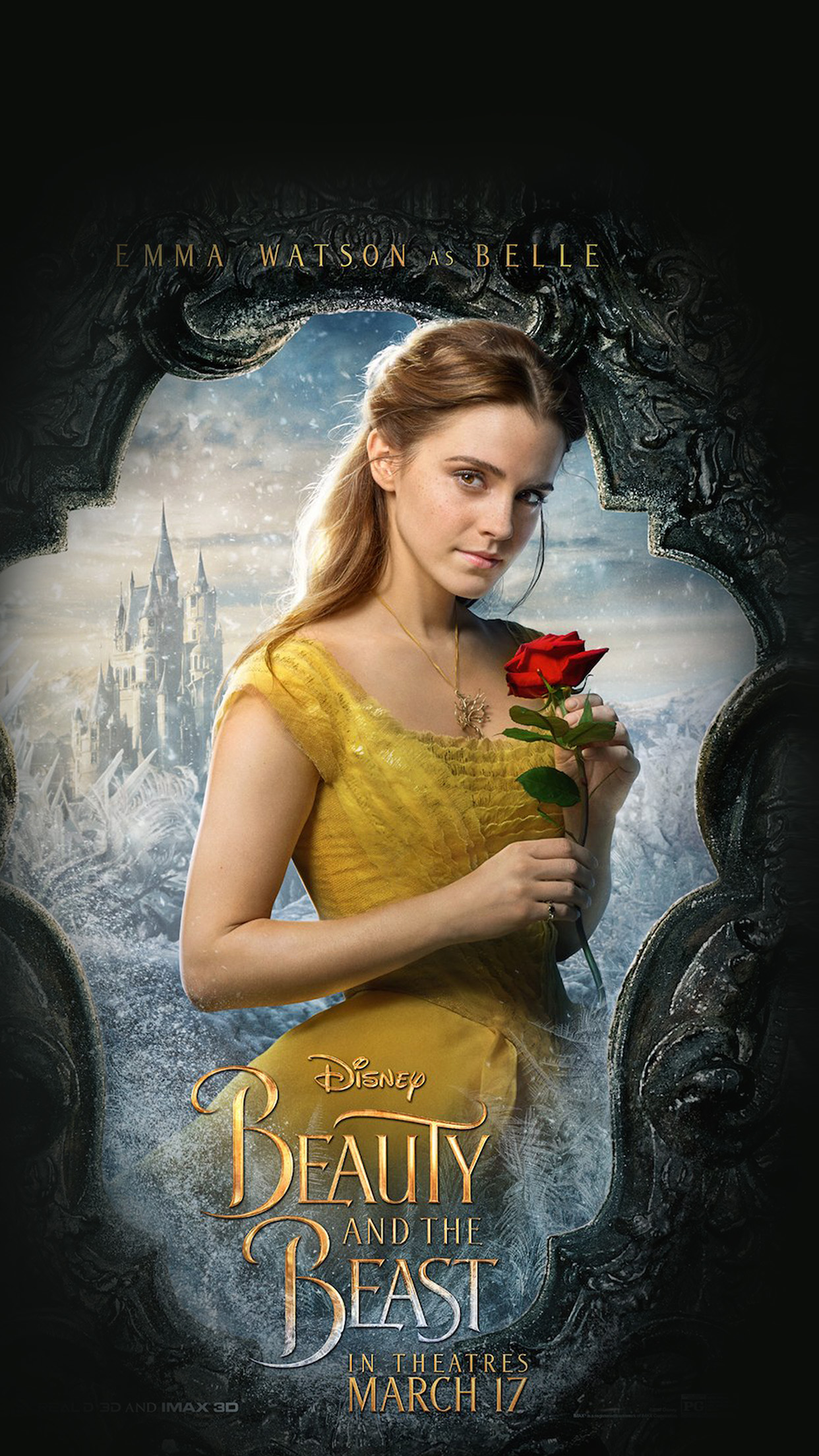 Iphone 7 Plus Beauty And The Beast Belle Ring 38931
