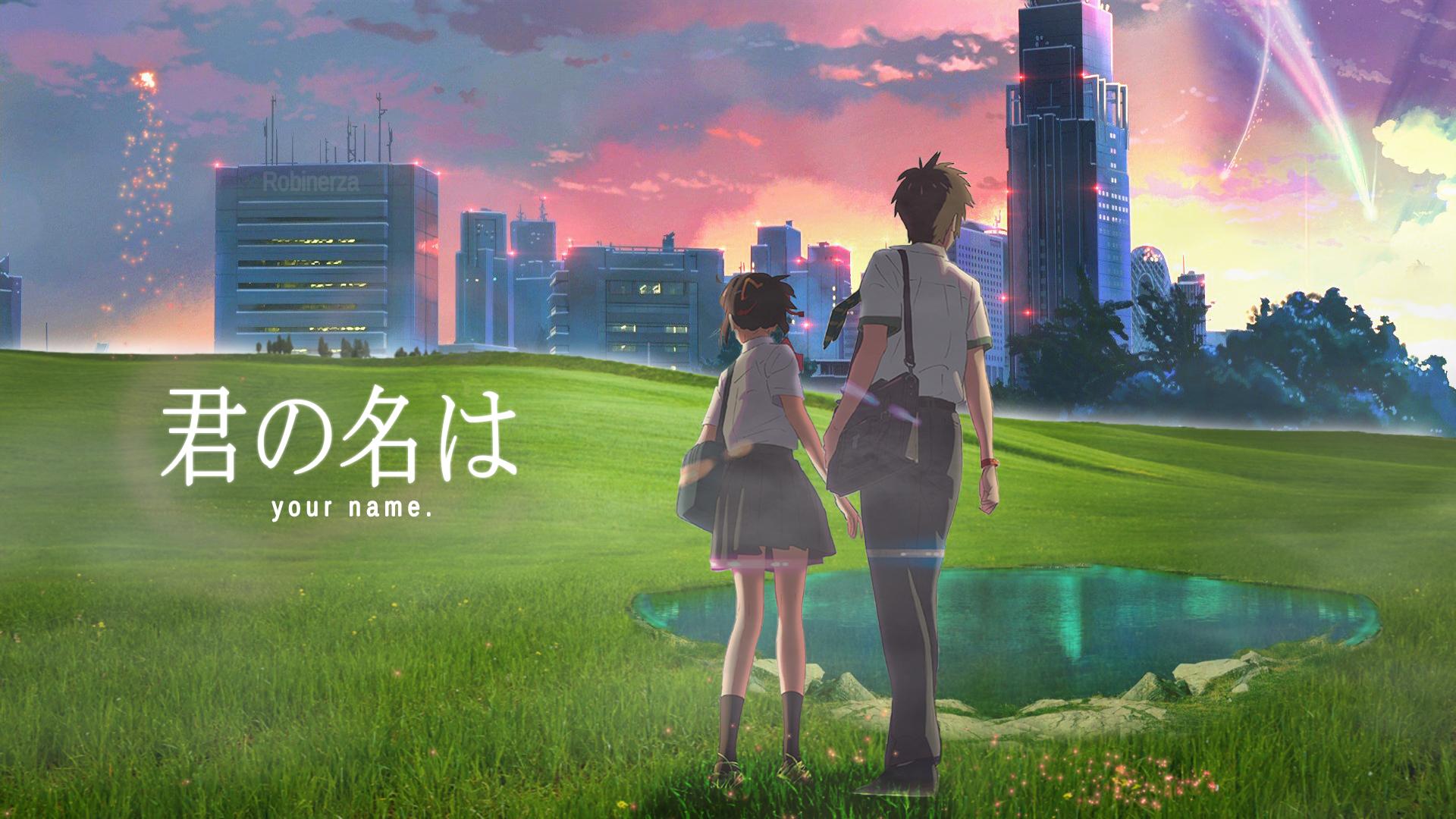 Best Anime Kimi No Na Wa Wallpaper Anime City Gif 300057