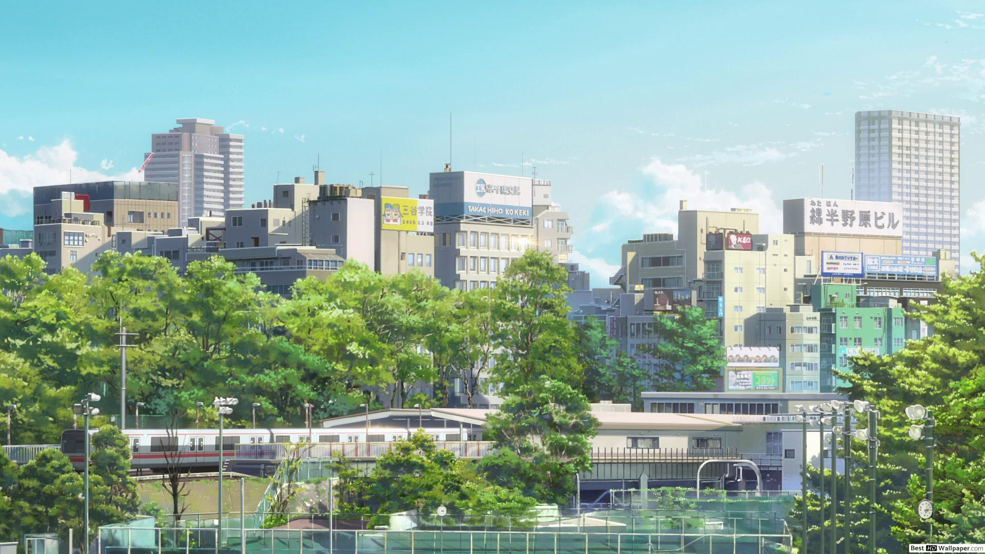 Tokio Kimi No Na Wa , HD Wallpaper & Backgrounds
