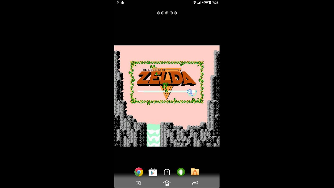Legend Of Zelda Android Live Wallpaper Famicom Disk System
