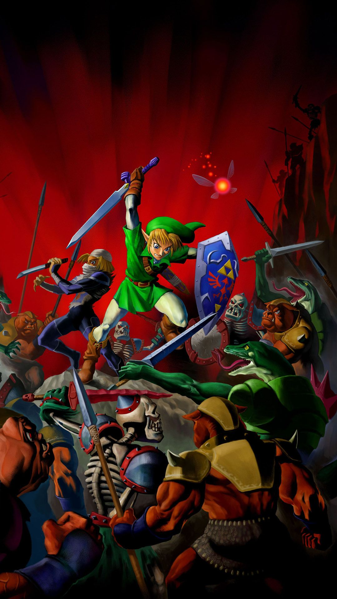 Legend Of Zelda Wallpaper Phone Hd 300854 Hd Wallpaper