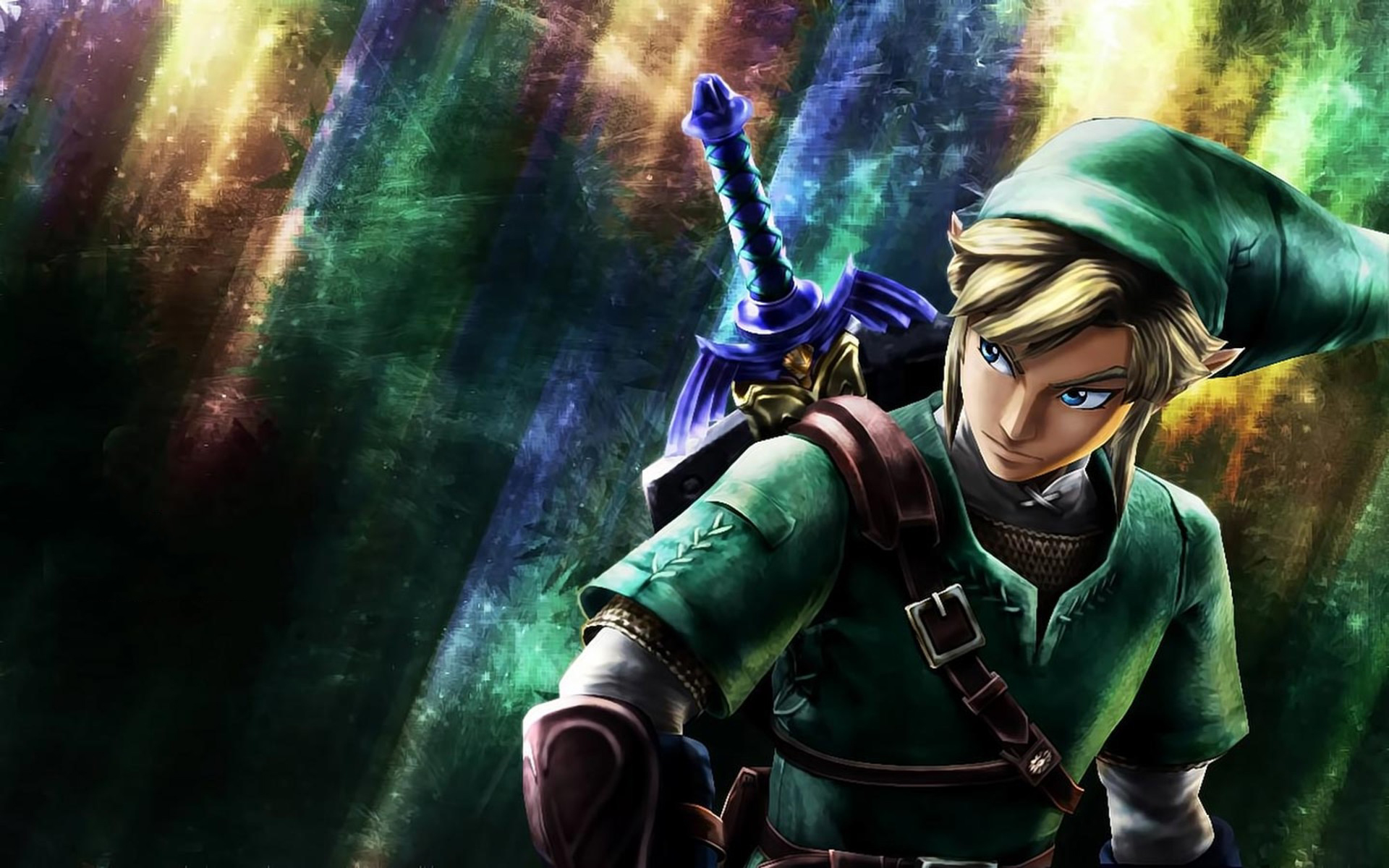 4290612 Heres A Pretty Cool Link Wallpaper For Legend Of Zelda