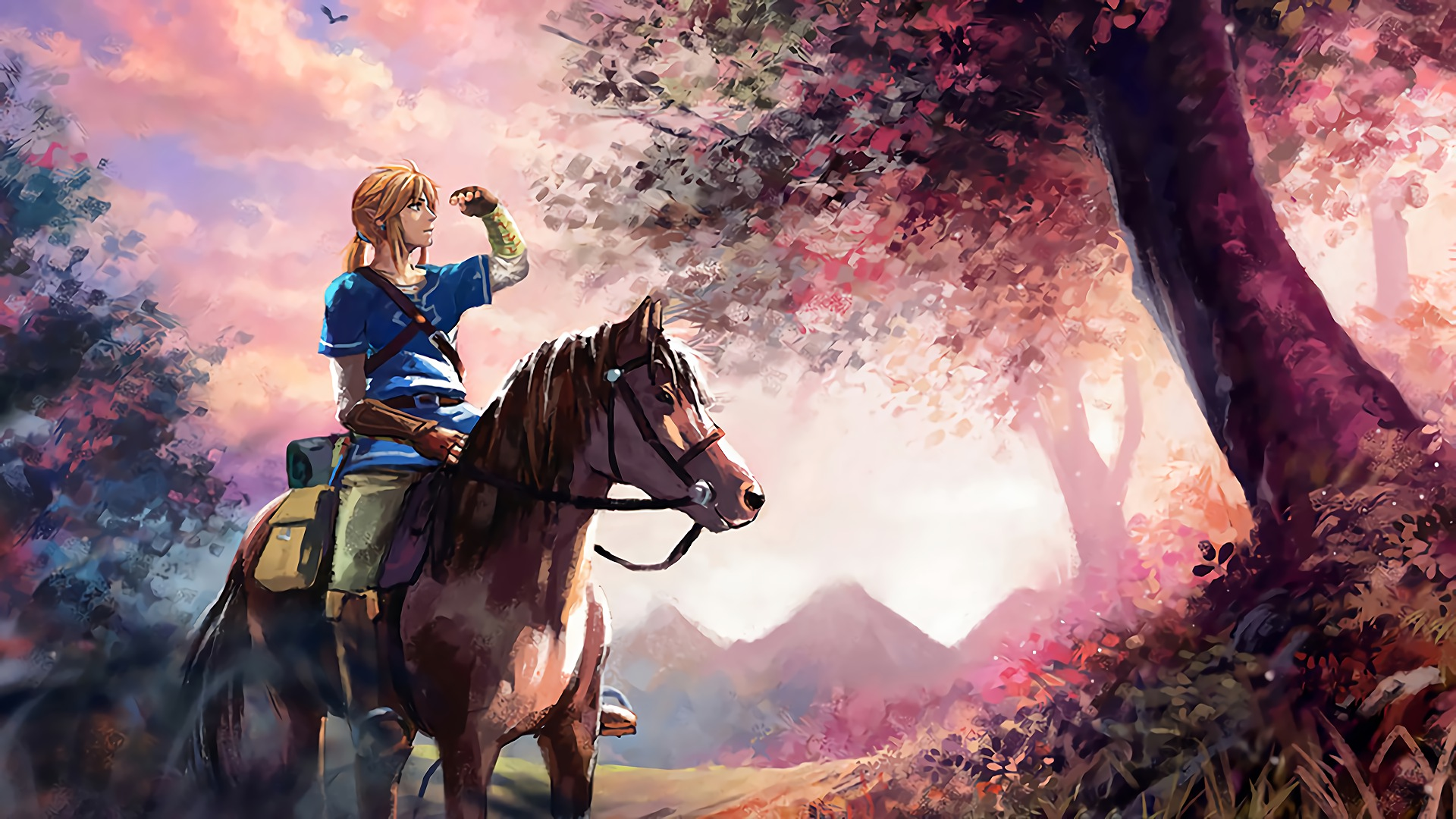 Legend Of Zelda Breath Of The Wild Horse 300984 Hd