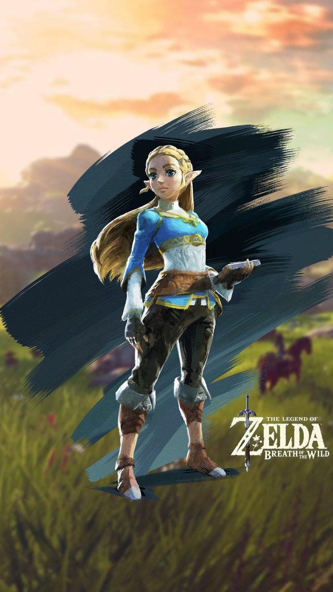 Ninmobilenews Legend Of Zelda Botw Zelda 301168 Hd