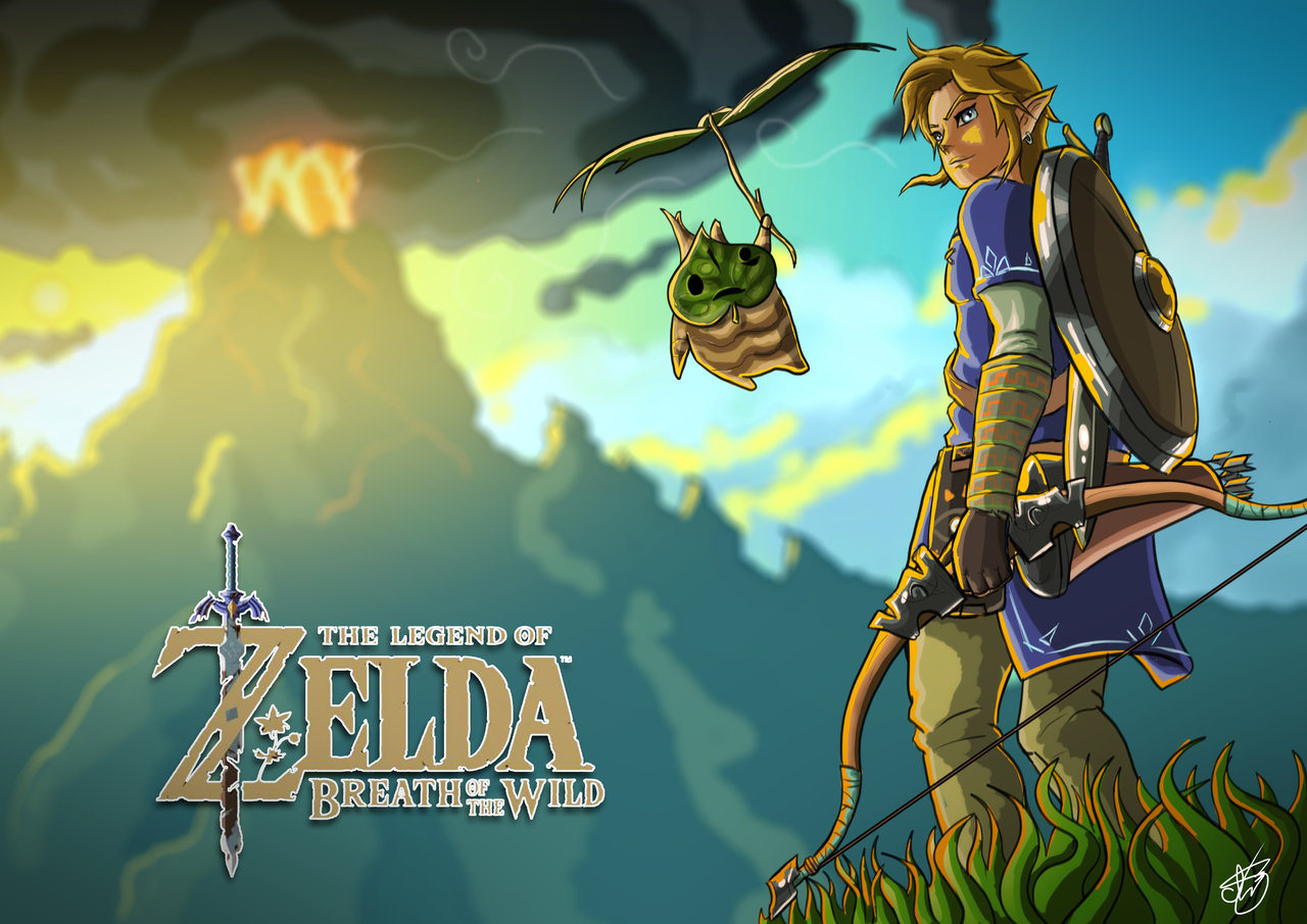 The Legend Of Zelda Loz Breath Of The Wild Fanart 301391 Hd