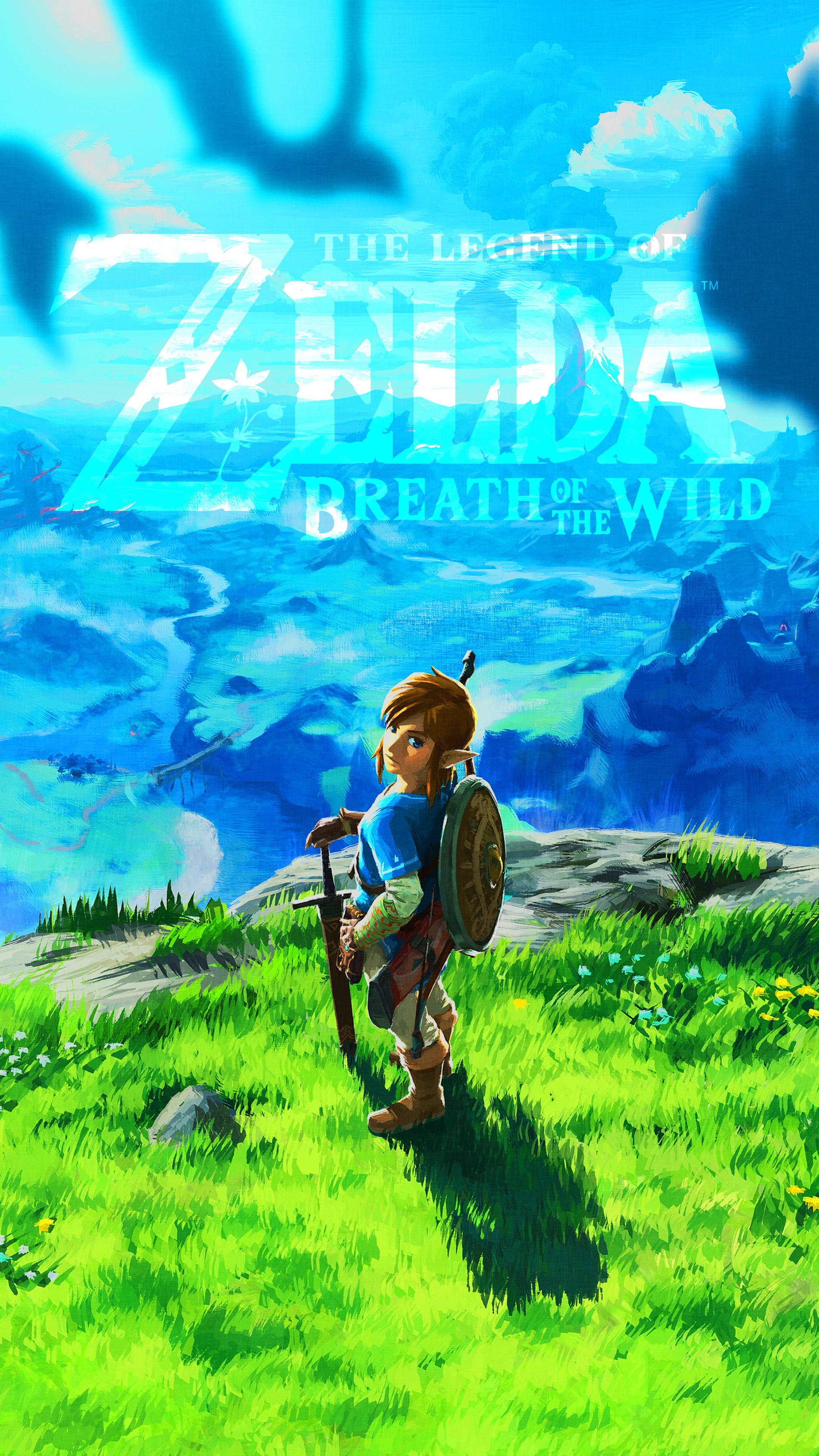 All Wallpapers Are Created Based On Assets Provided - Zelda Breath Of The Wild Wallpaper Iphone , HD Wallpaper & Backgrounds