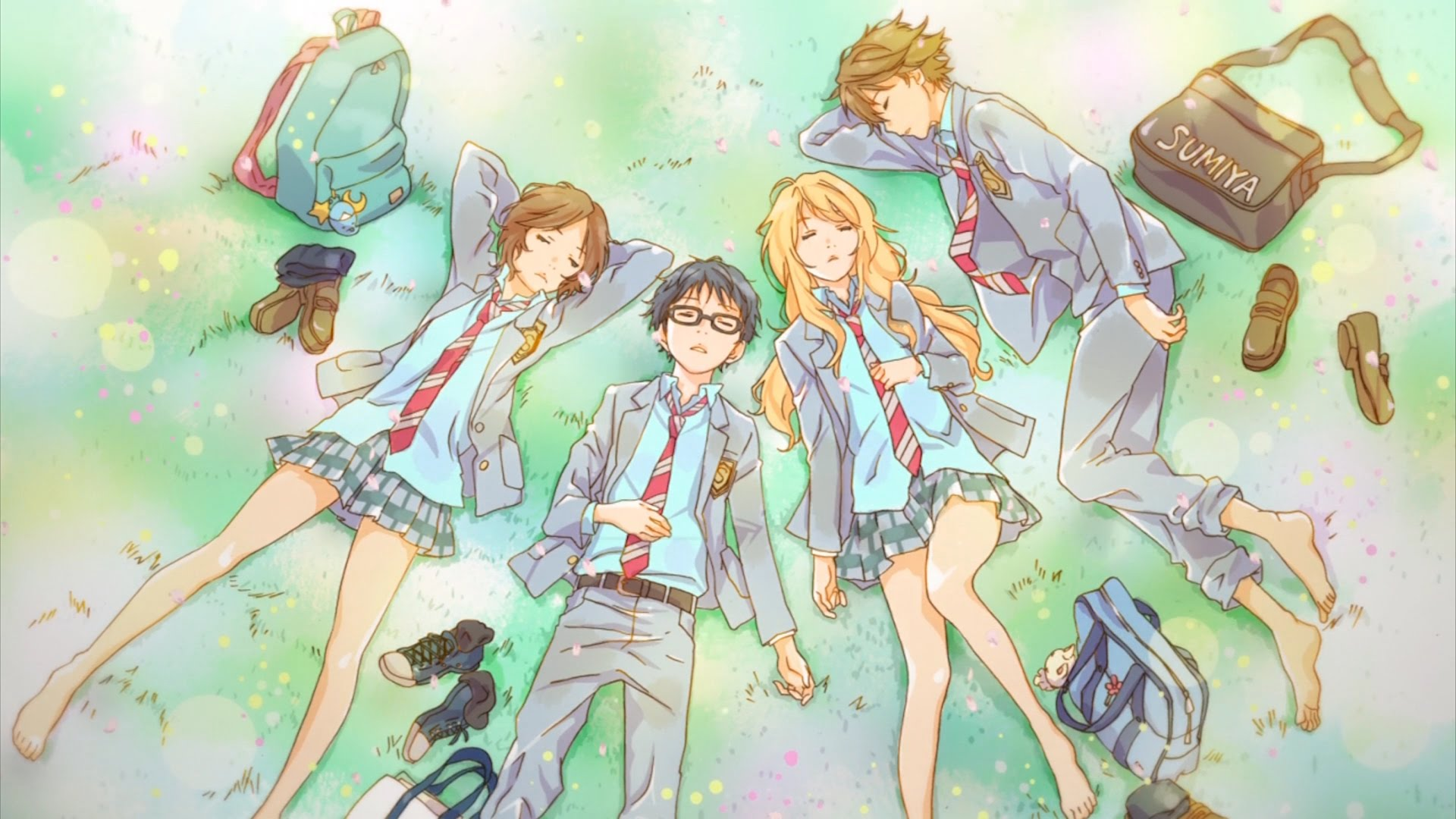Your Lie In April Wallpaper Your Lie In April 301512 Hd
