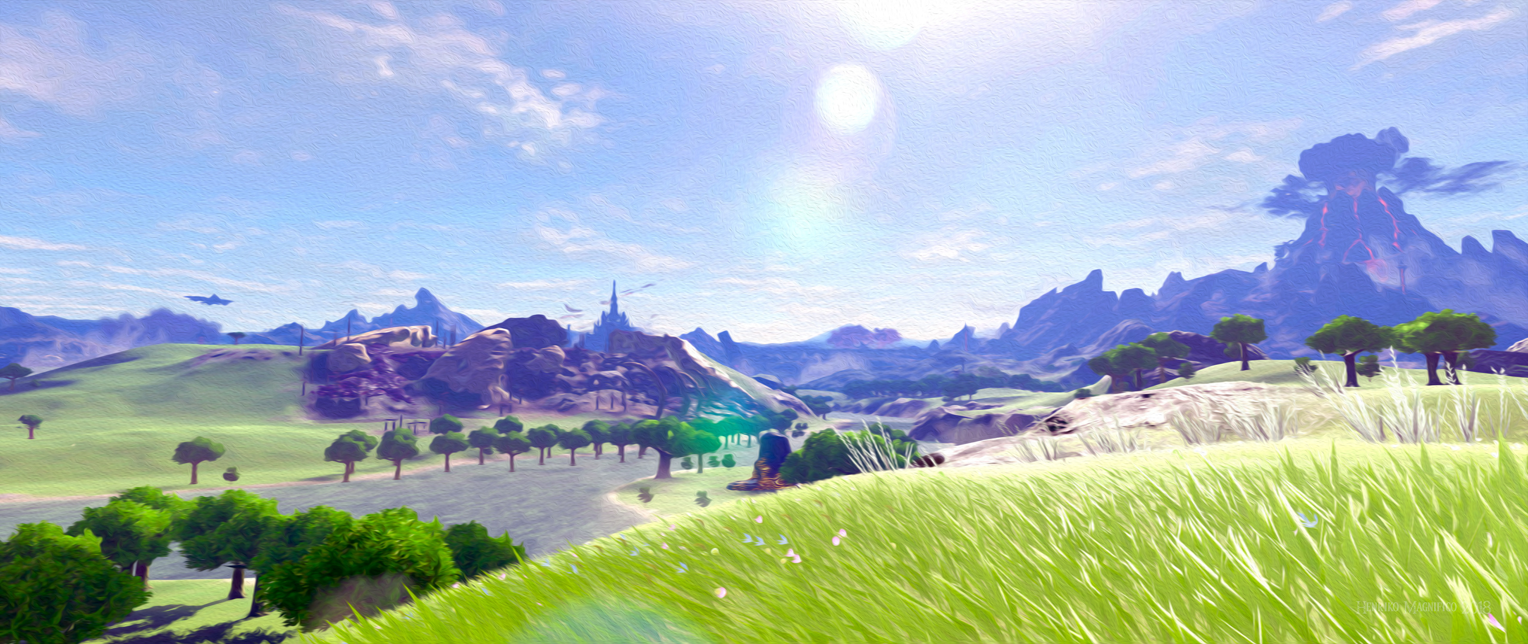 4k Breath Of The Wild 301611 Hd Wallpaper Backgrounds Download