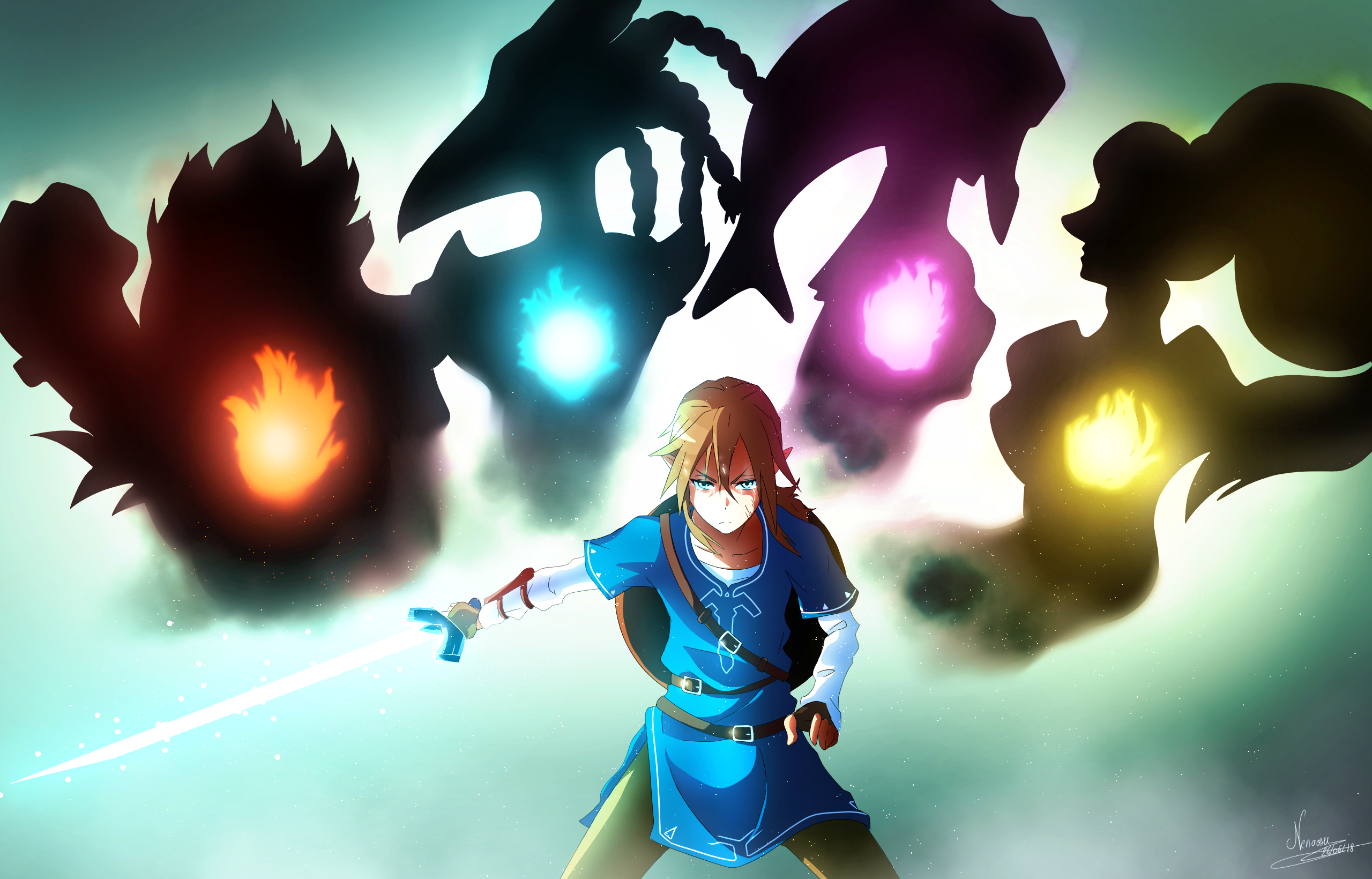 The Legend Of Zelda Breath Of The Wild Mipha 301883 Hd