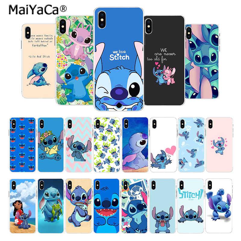 Maiyaca Cute Cartoon Lilo Stitch New Arrival Fashion Cute Stitch Hd Iphone 301901 Hd Wallpaper Backgrounds Download