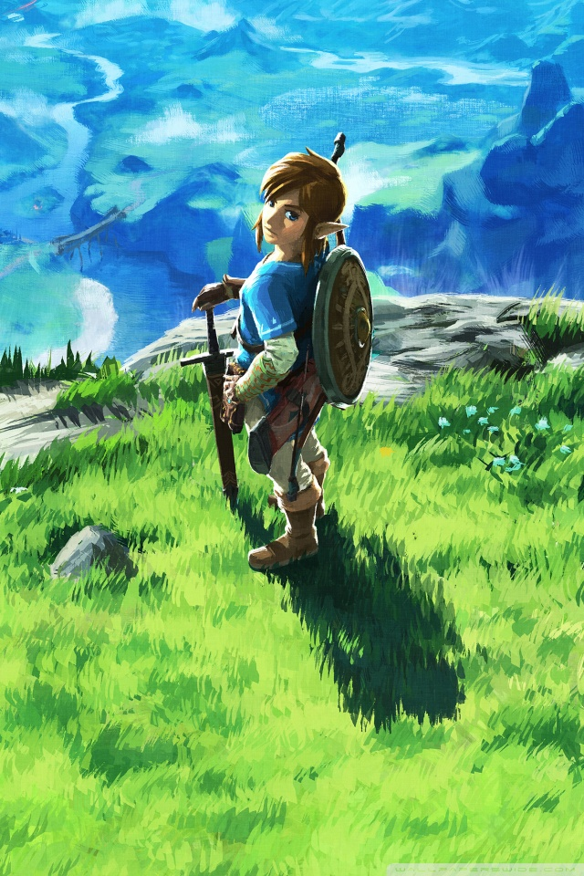 Breath Of The Wild Wallpaper 4k 302161 Hd Wallpaper