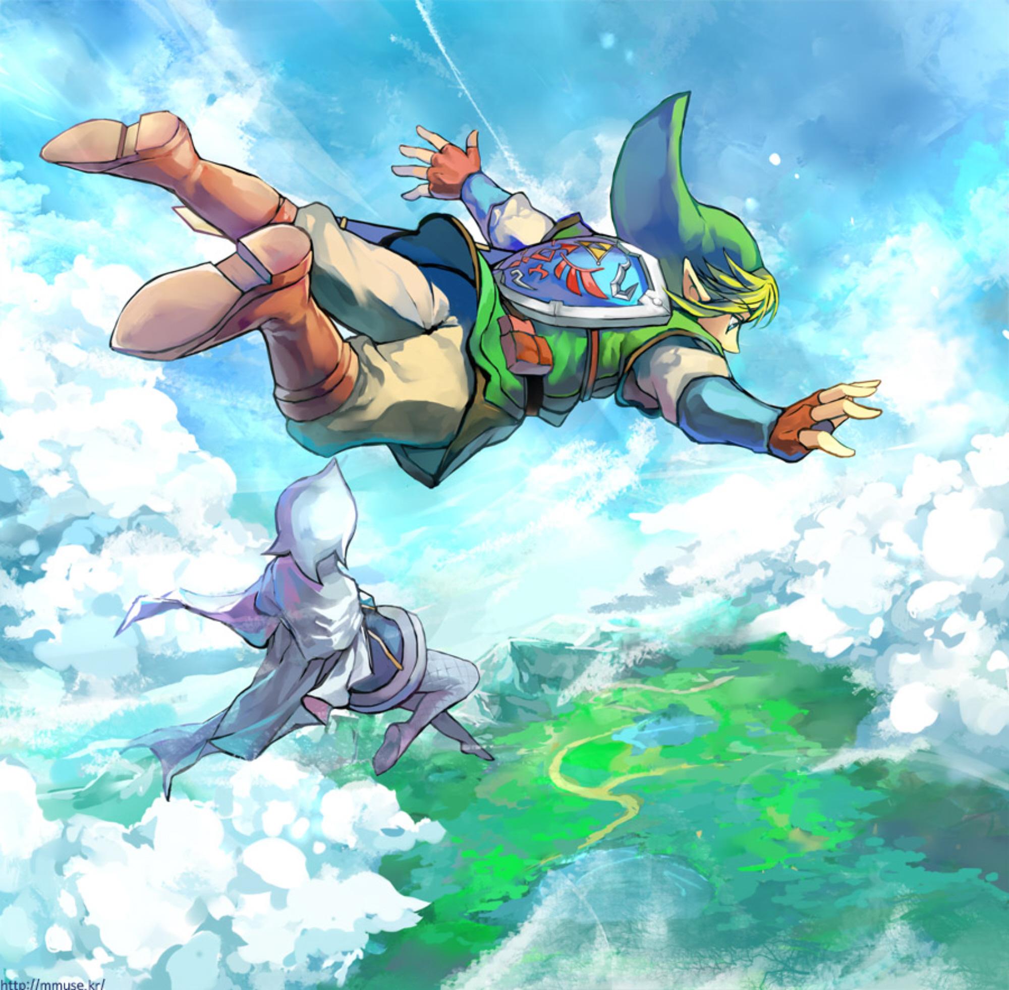 Epic Legend Of Zelda Wallpaper Legend Of Zelda Skyward Sword Art