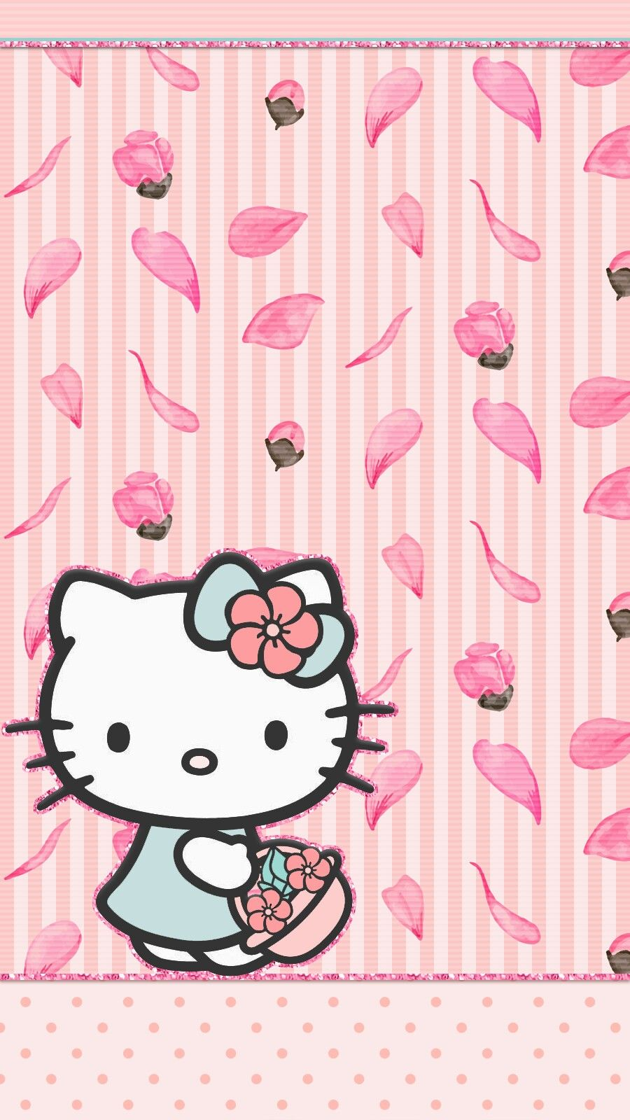 Cherry Blossom Wallpaper Iphone Android Hello Kitty Samsung J2 Pro 2018 Case Cover 304843 Hd Wallpaper Backgrounds Download