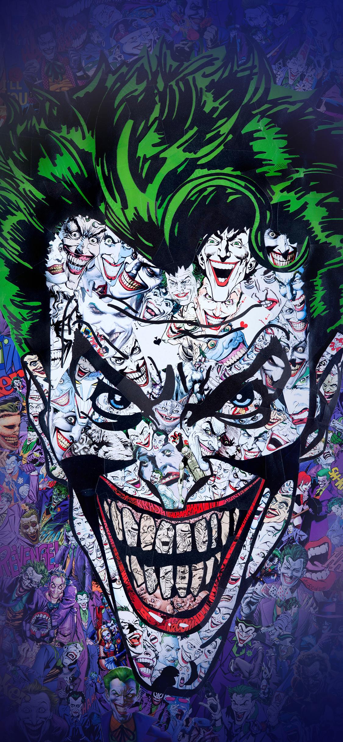 Iphone X - Joker Wallpaper Iphone X , HD Wallpaper & Backgrounds