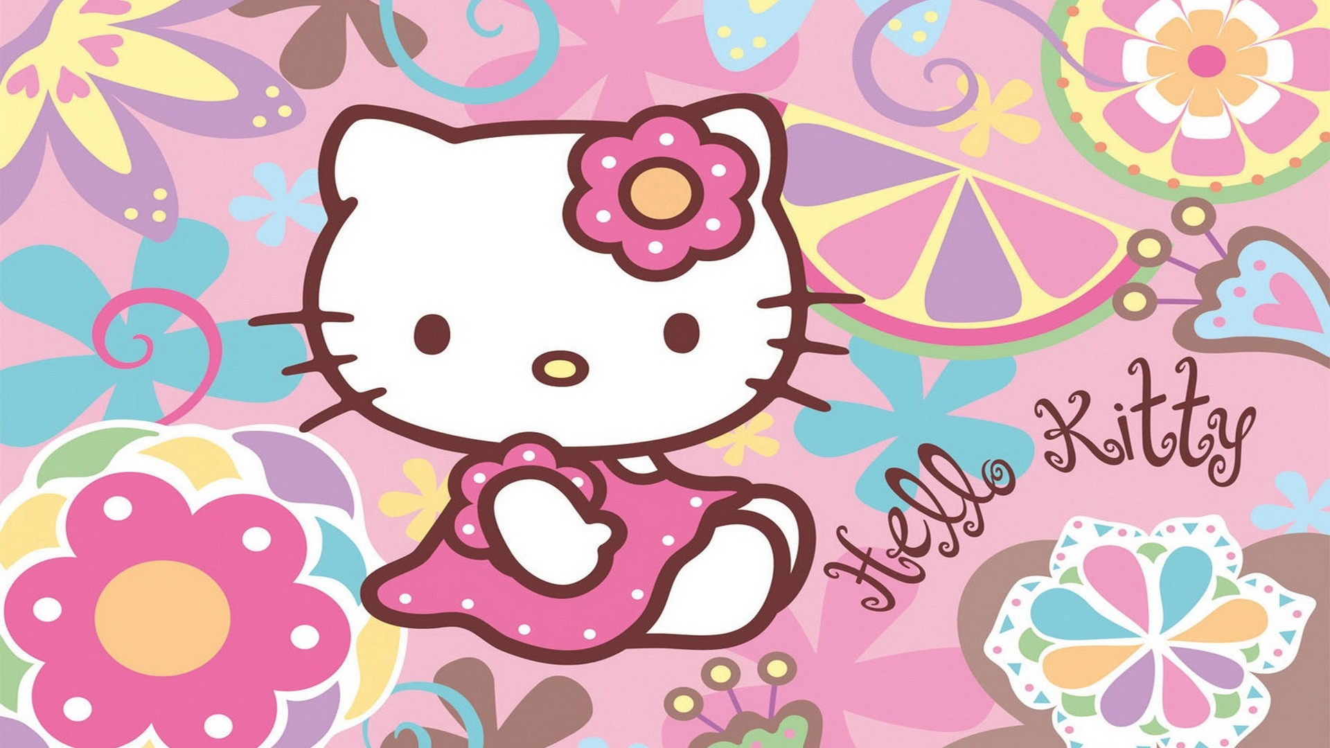 Gambar Hello Kitty Wallpaper Hd Animasi Bergerak Lucu