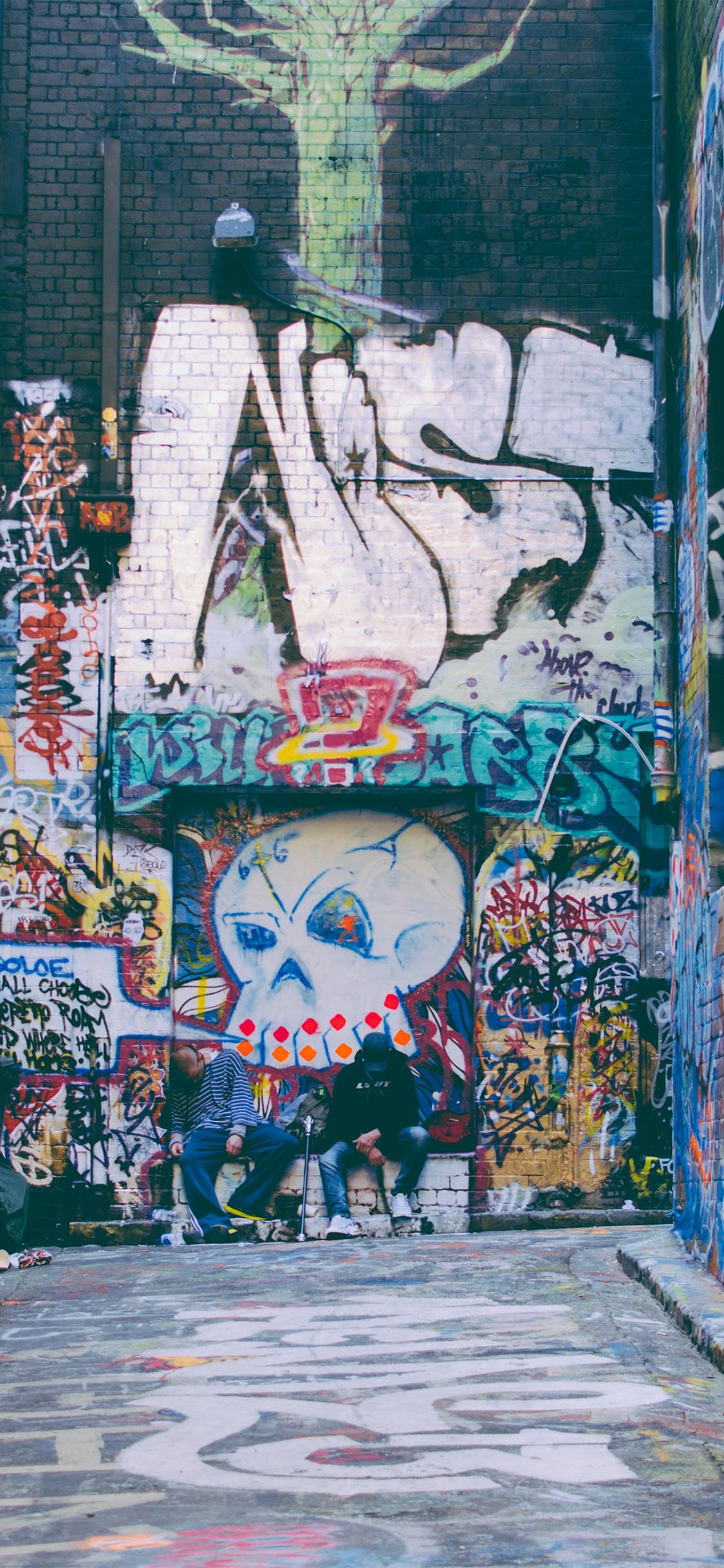 Iphone X - Iphone X Wallpaper Graffiti , HD Wallpaper & Backgrounds