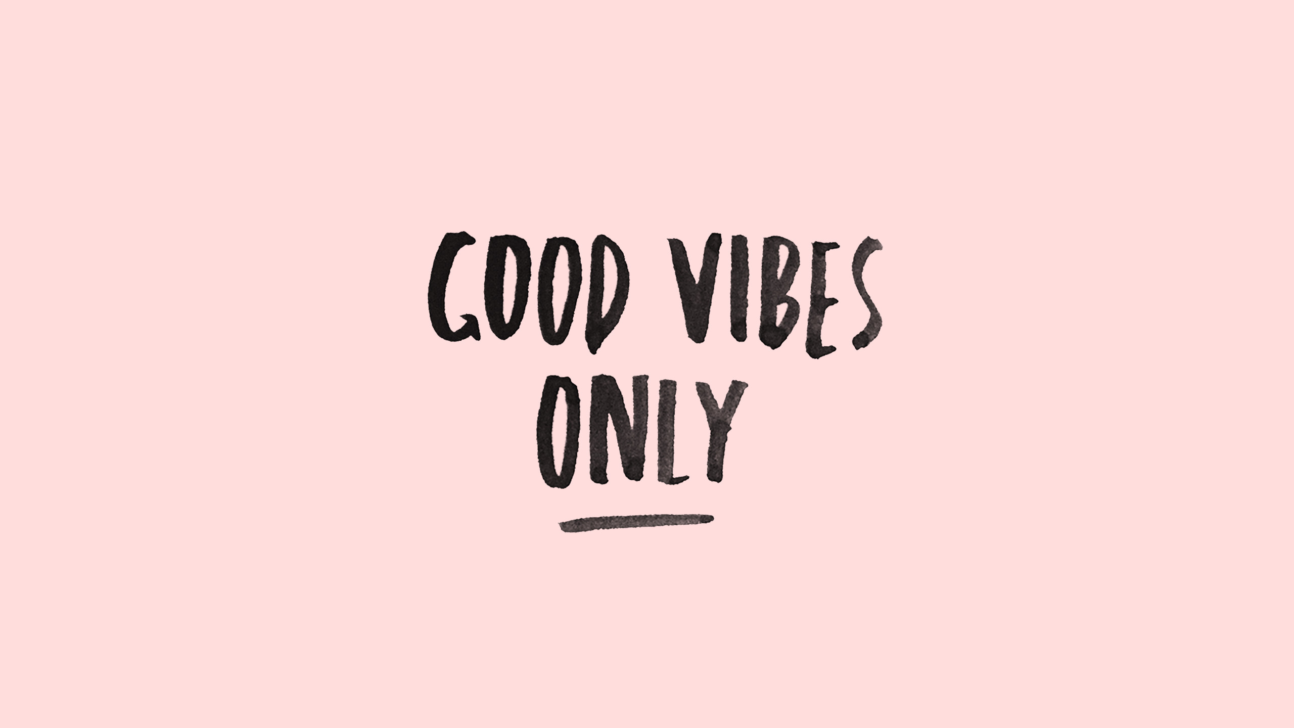 Pink Good Vibes Wallpaper Desktop Desktop Good Vibes