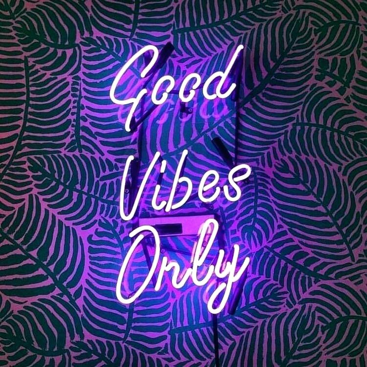 Good Vibes Only Neon Wallpaper Words Signs Good Vibes Neon Light 307970 Hd Wallpaper Backgrounds Download