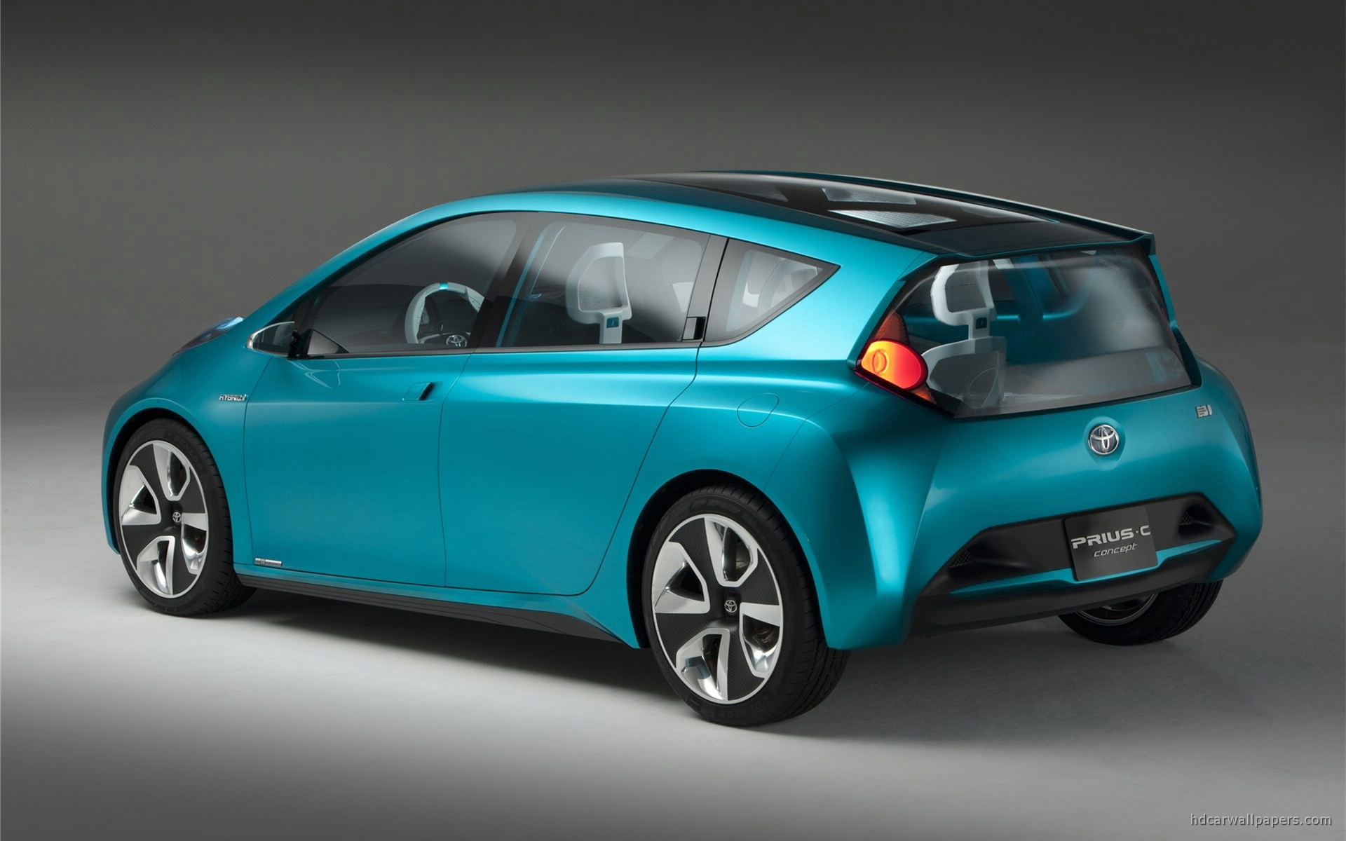 Toyota Prius C 3d Car Toyota - Prius C Concept , HD Wallpaper & Backgrounds