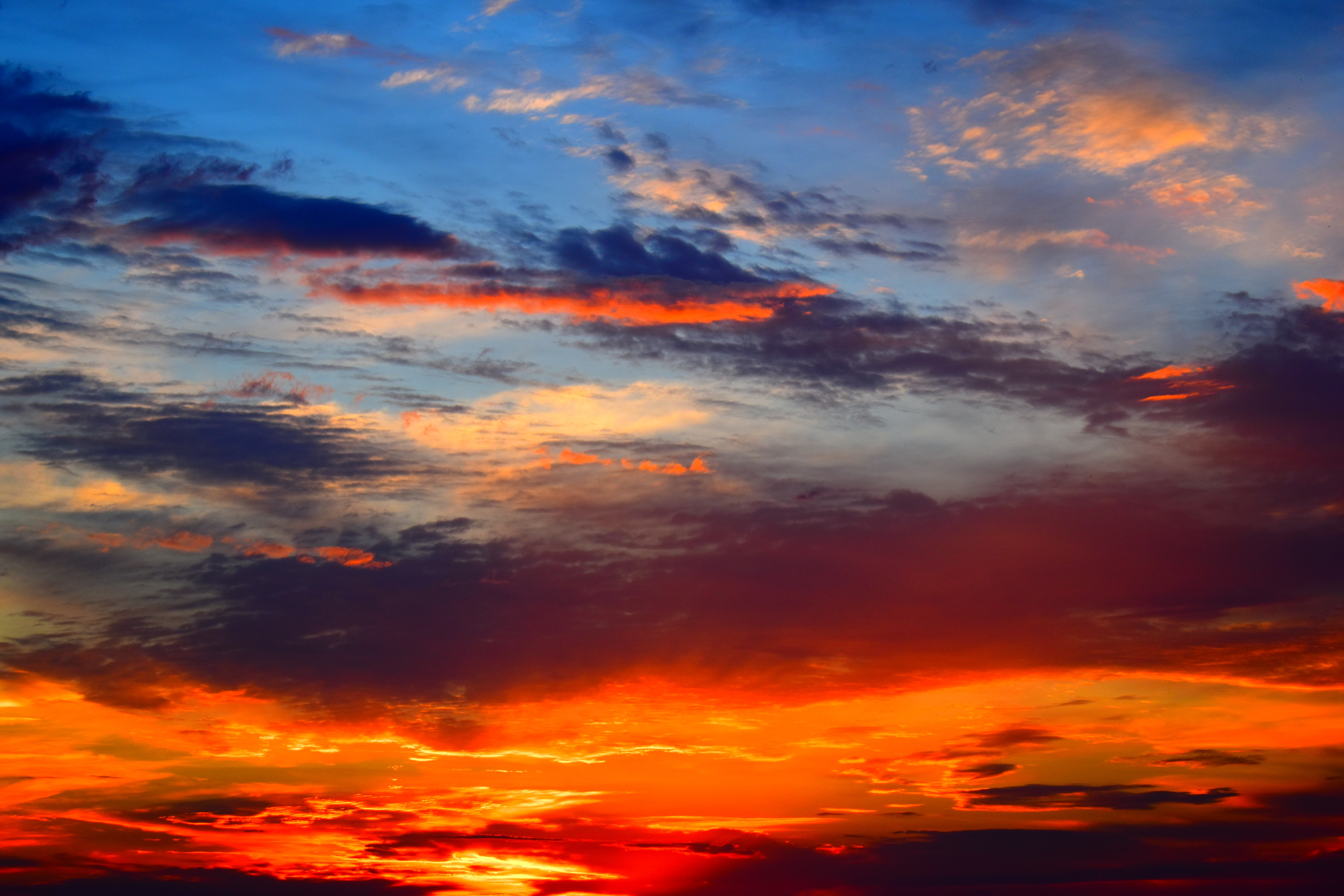 Wallpaper Sunset Sky Clouds Sunlight Bright Sunset Sky Images Hd 3005115 Hd Wallpaper Backgrounds Download