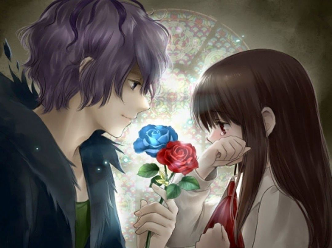 Android, Iphone, Desktop Hd Backgrounds / Wallpapers - Anime Love Couple Hd , HD Wallpaper & Backgrounds