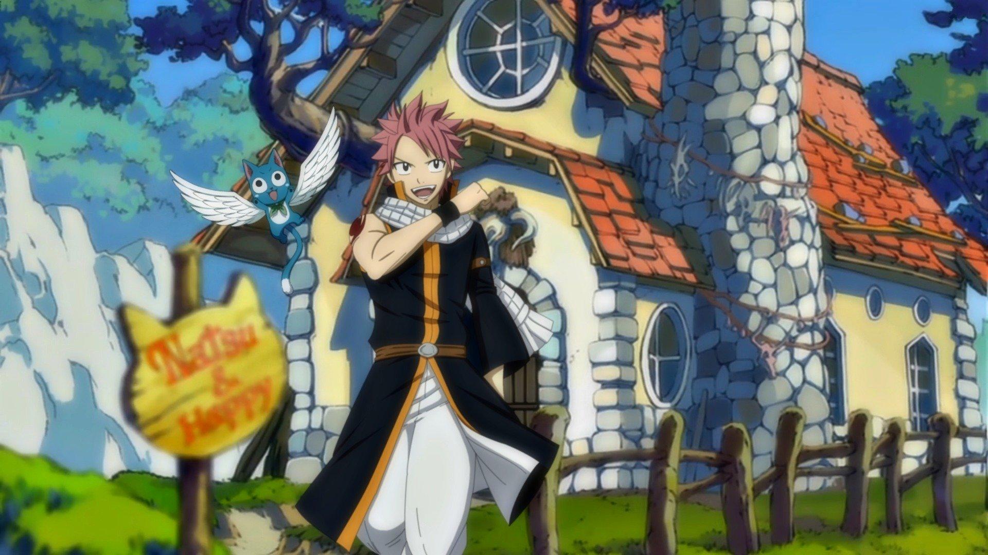 Fairy Tail Wallpaper - Fairy Tail Desktop Background Hd , HD Wallpaper & Backgrounds