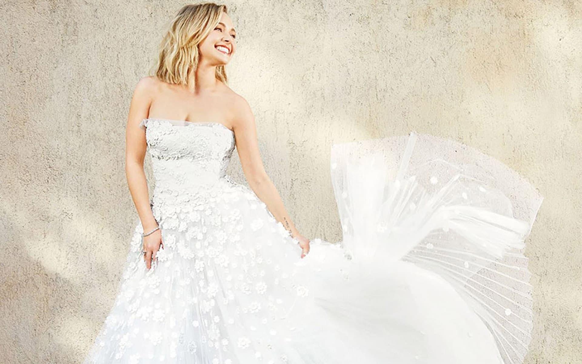 1920x1200, Hayden Panettiere Wedding Dress Wallpapers - Wedding Dress , HD Wallpaper & Backgrounds