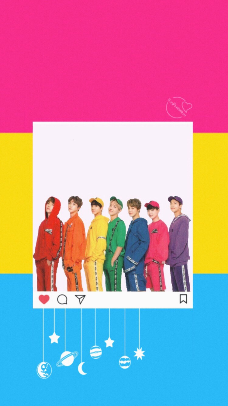 Bts Pansexual Pride Wallpaper 🏳️🌈 - Bts 4th Muster Photoshoot , HD Wallpaper & Backgrounds