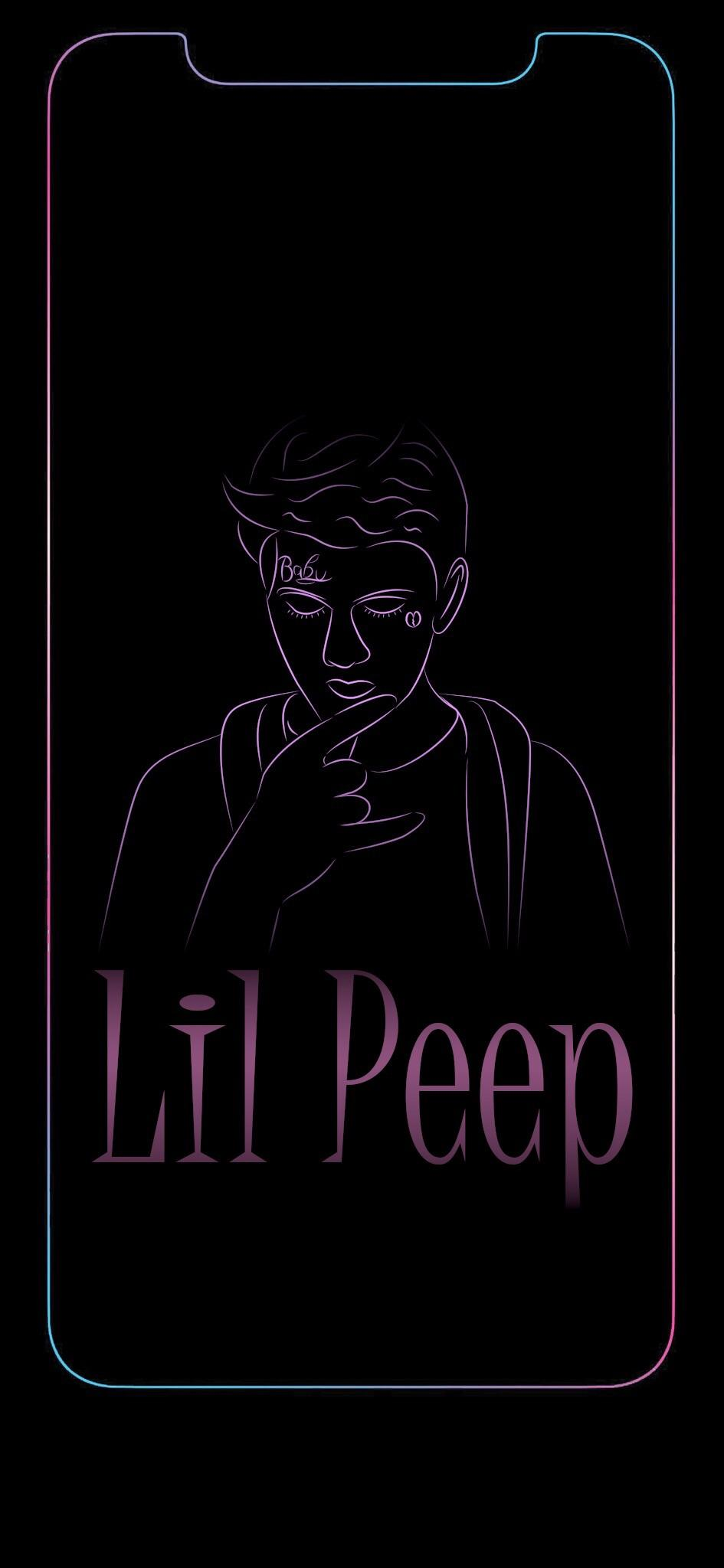Lil Peep Iphone X 3017341 Hd Wallpaper Backgrounds Download