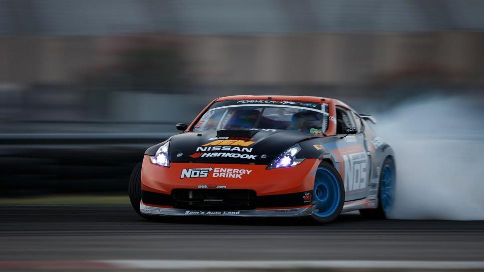 Nissan 350z Racecar Drift Wallpaper,nissan Hd Wallpaper,350z - Nissan 350z Wallpaper Drift , HD Wallpaper & Backgrounds