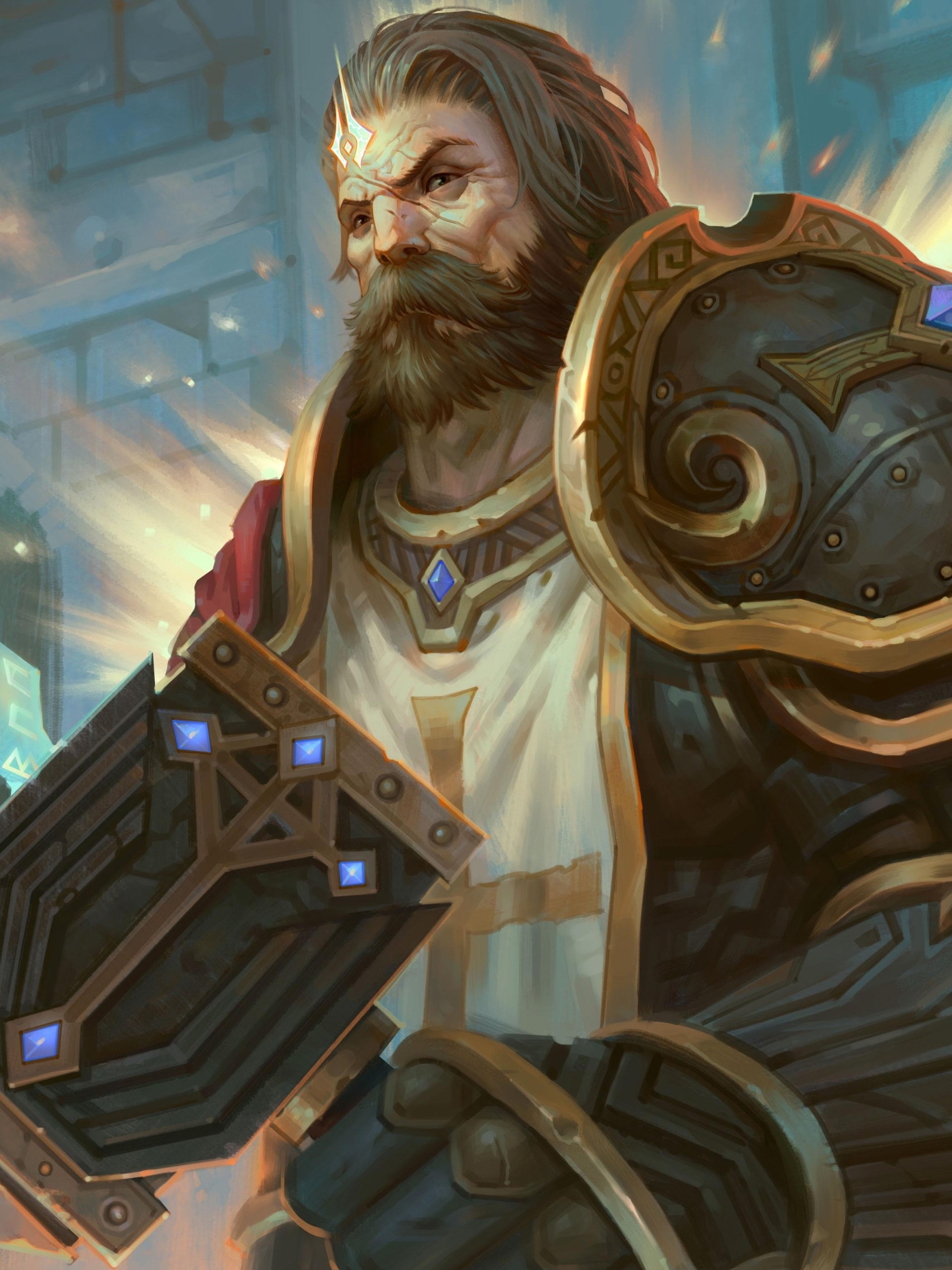 Dungeons And Dragons Paladin Art , HD Wallpaper & Backgrounds