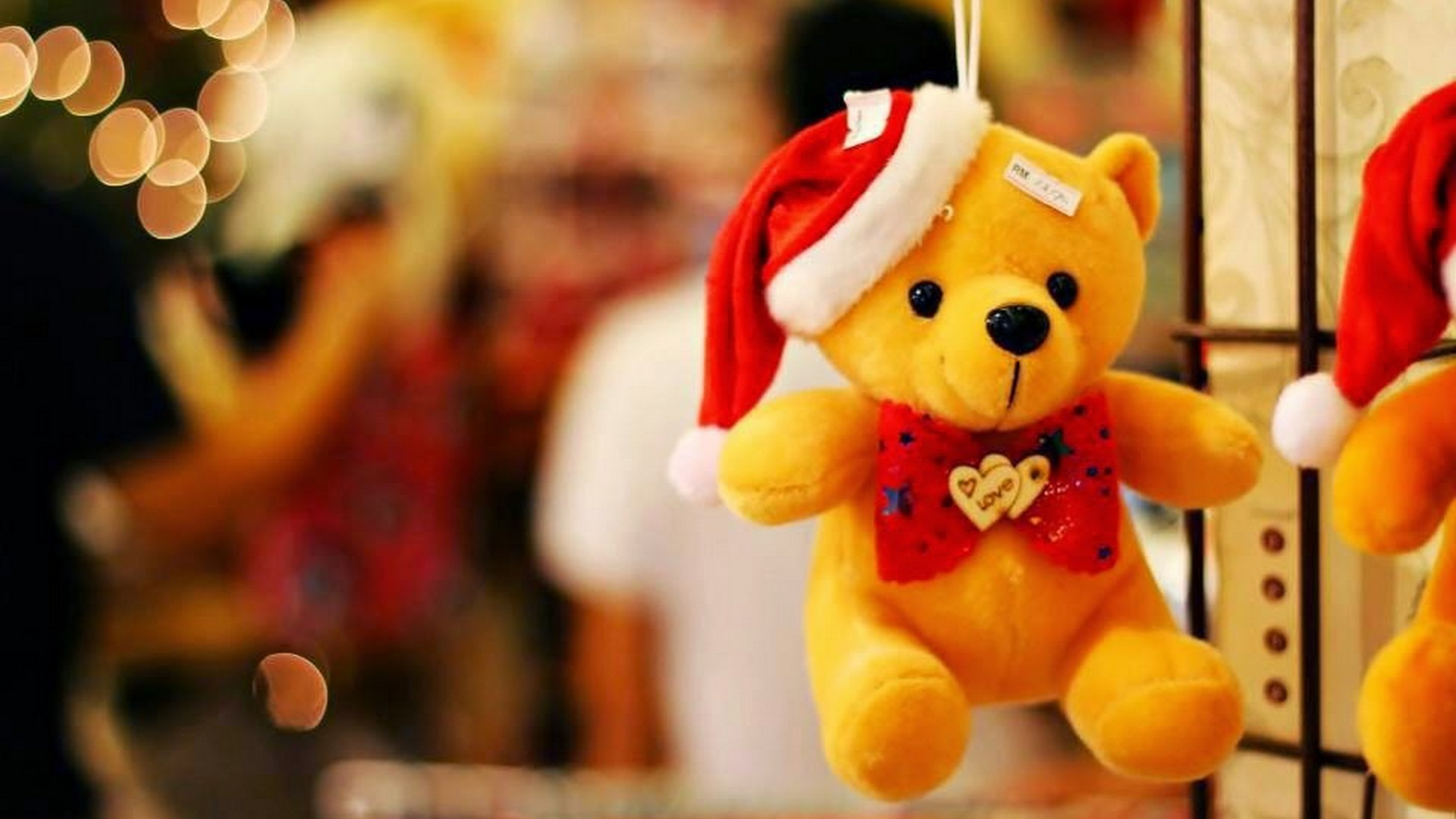 Desktop Wallpaper Yellow Cute With Image Resolution - Happy Teddy Day 2020 , HD Wallpaper & Backgrounds