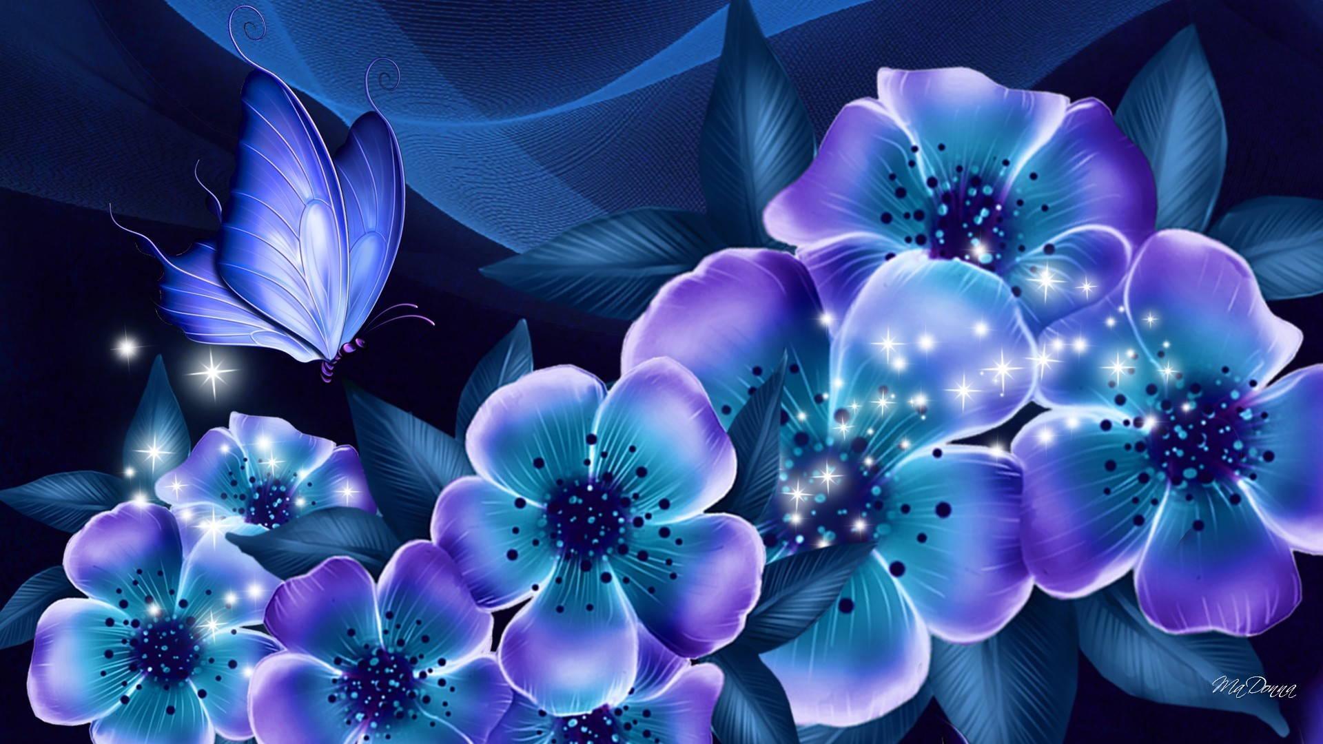Purple Rose Background Wallpaper - Flowers Shine At Night , HD Wallpaper & Backgrounds