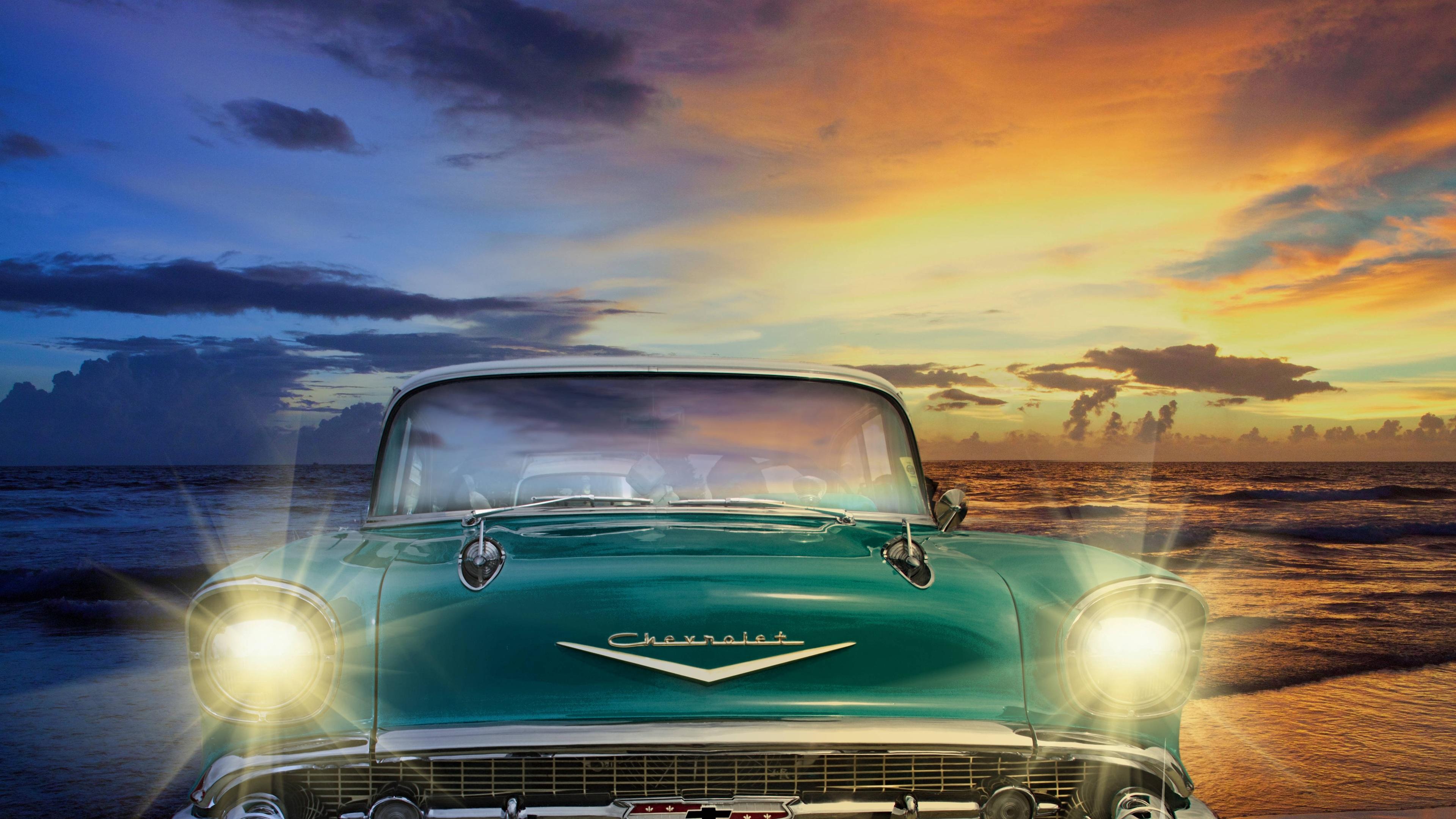 Chevrolet Old Retro Classic Vintage Car Classic Car Wallpaper 4k 3029805 Hd Wallpaper Backgrounds Download