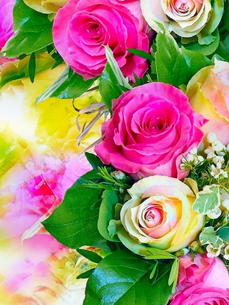 Rose Flower Wallpaper Hd Mobile Wallpapers Flowers - Png Flower Background Hd , HD Wallpaper & Backgrounds