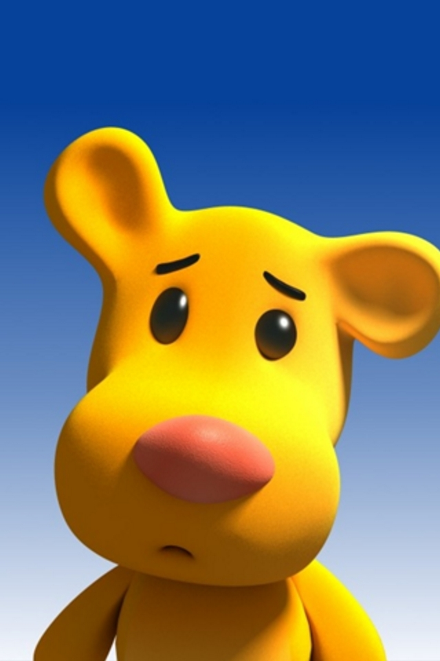 3d Dog Ipod Touch Wallpaper - My Friend How Are You , HD Wallpaper & Backgrounds