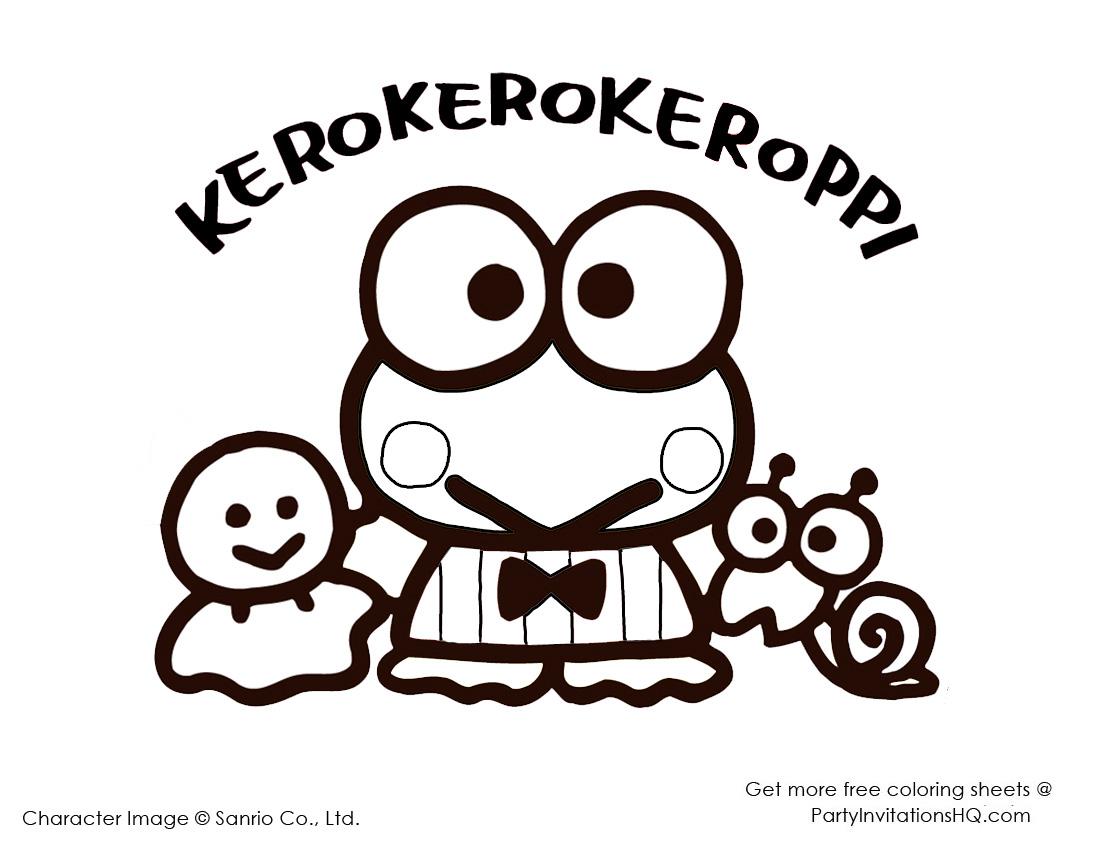 Keroppi And Keroleen Coloring Pages Kerropi Wallpaper Desktop 3034528 Hd Wallpaper Backgrounds Download