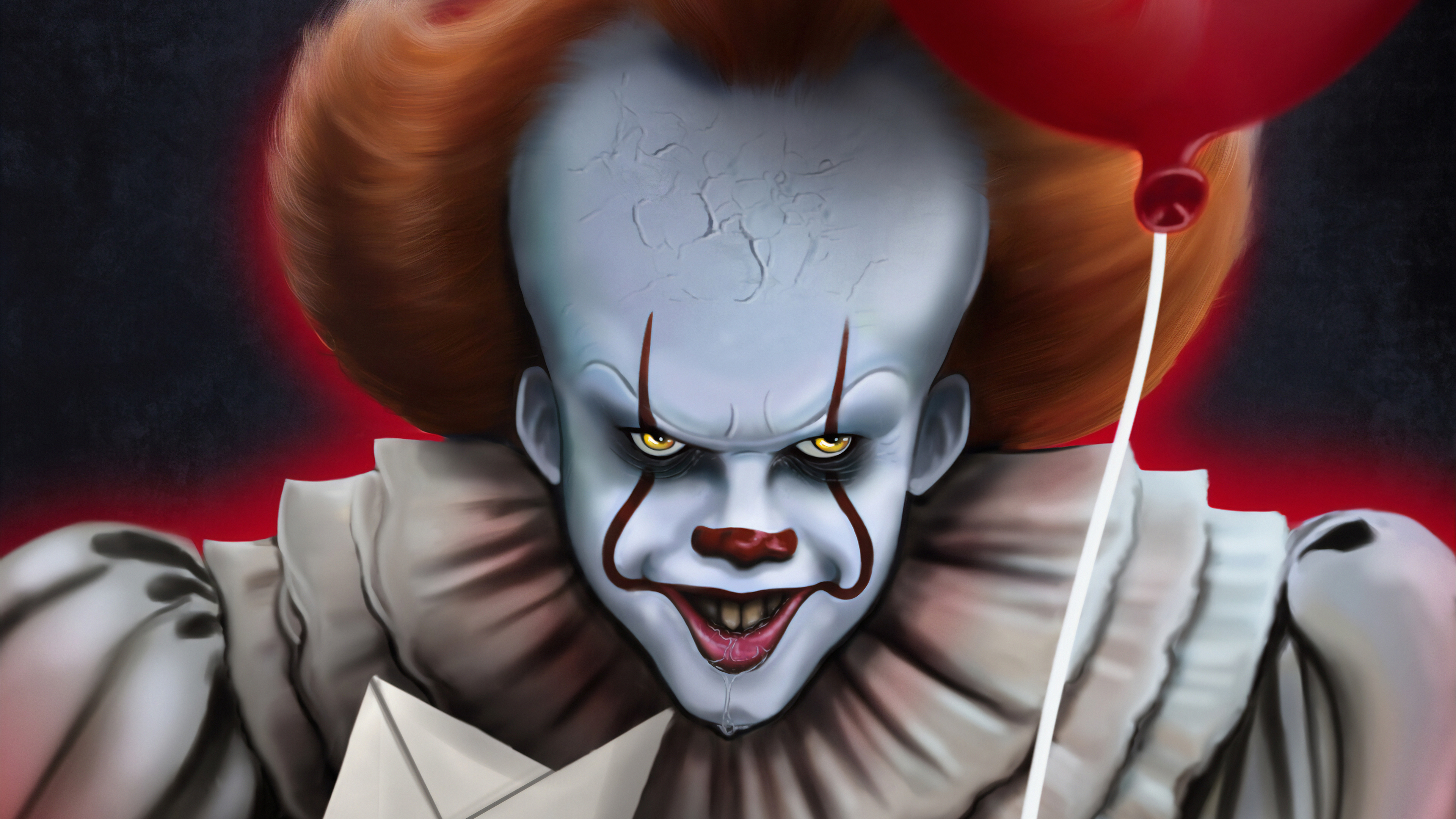 Wallpaper Of Art Clown It Chapter Two Pennywise Pennywise Hd 3036384 Hd Wallpaper Backgrounds Download