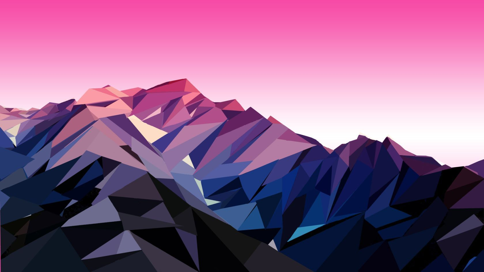 Low Poly Mountain Background , HD Wallpaper & Backgrounds
