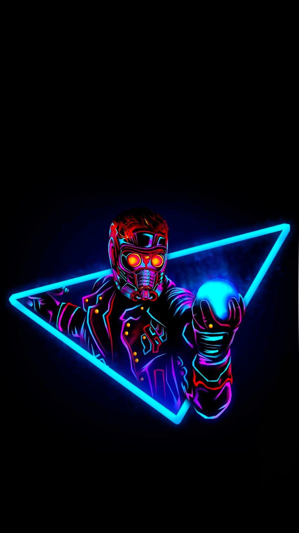 Marvel Neon Wallpaper 4k , HD Wallpaper & Backgrounds